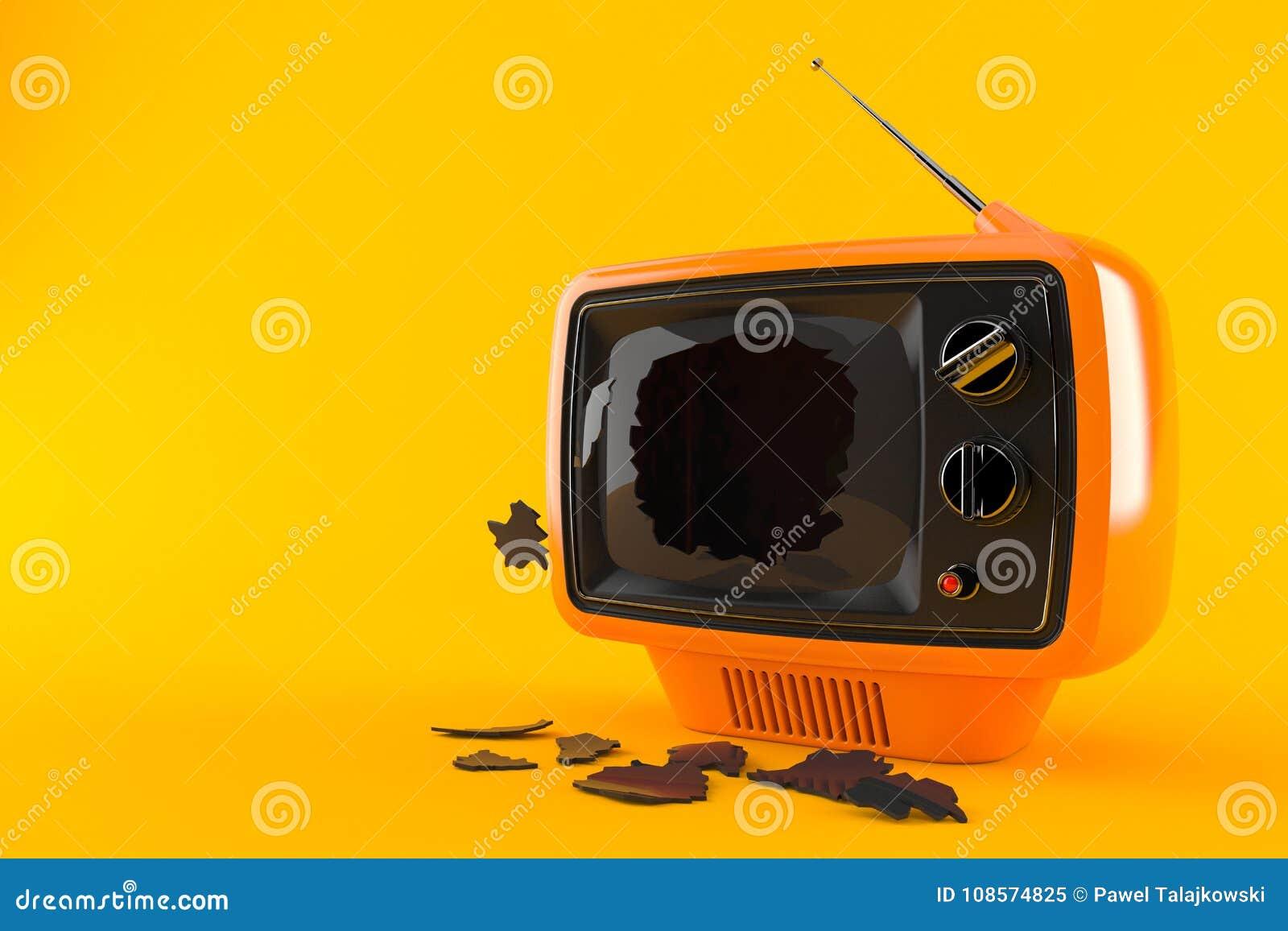 Gebroken TV