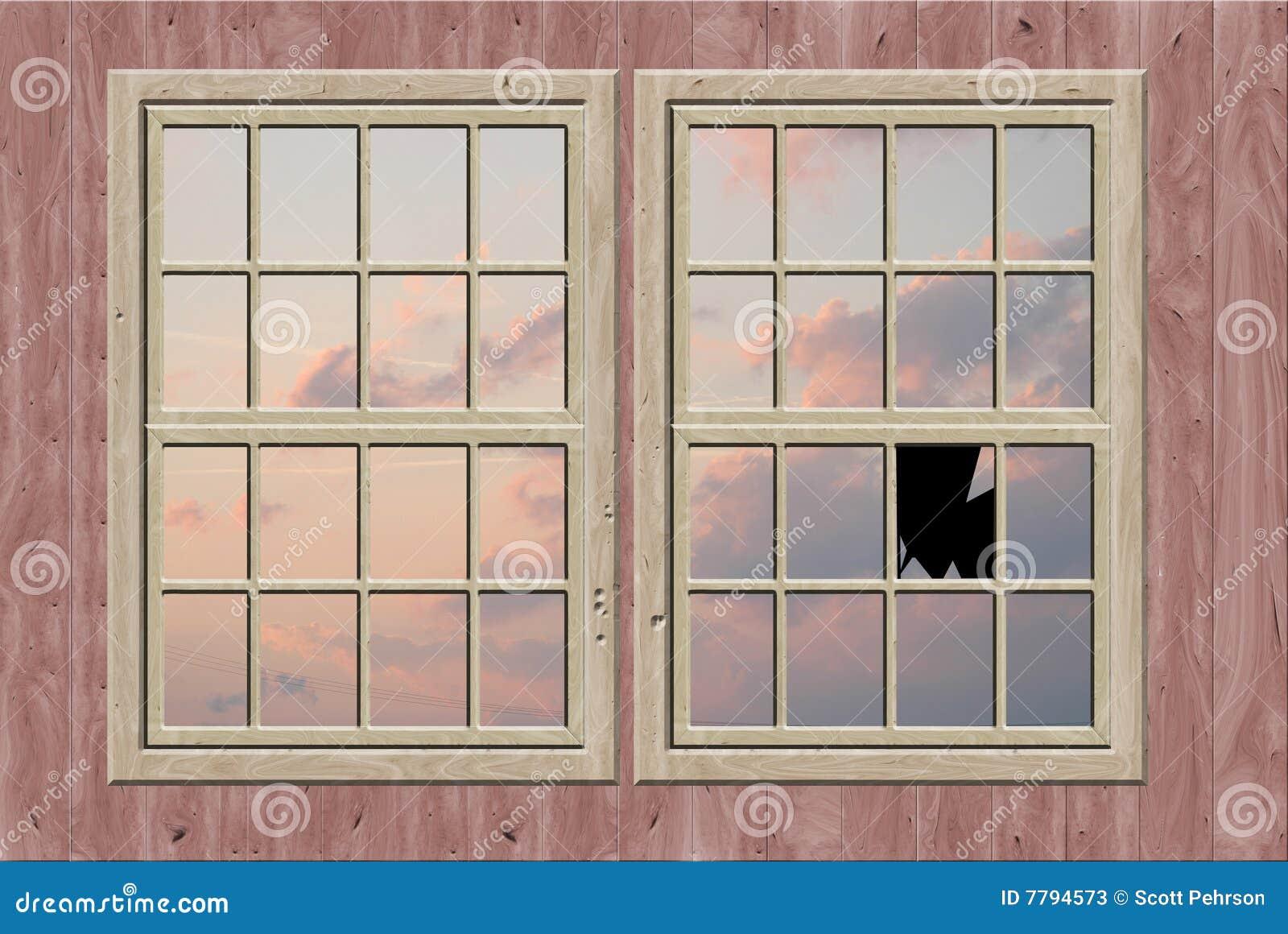 Gebroken venster