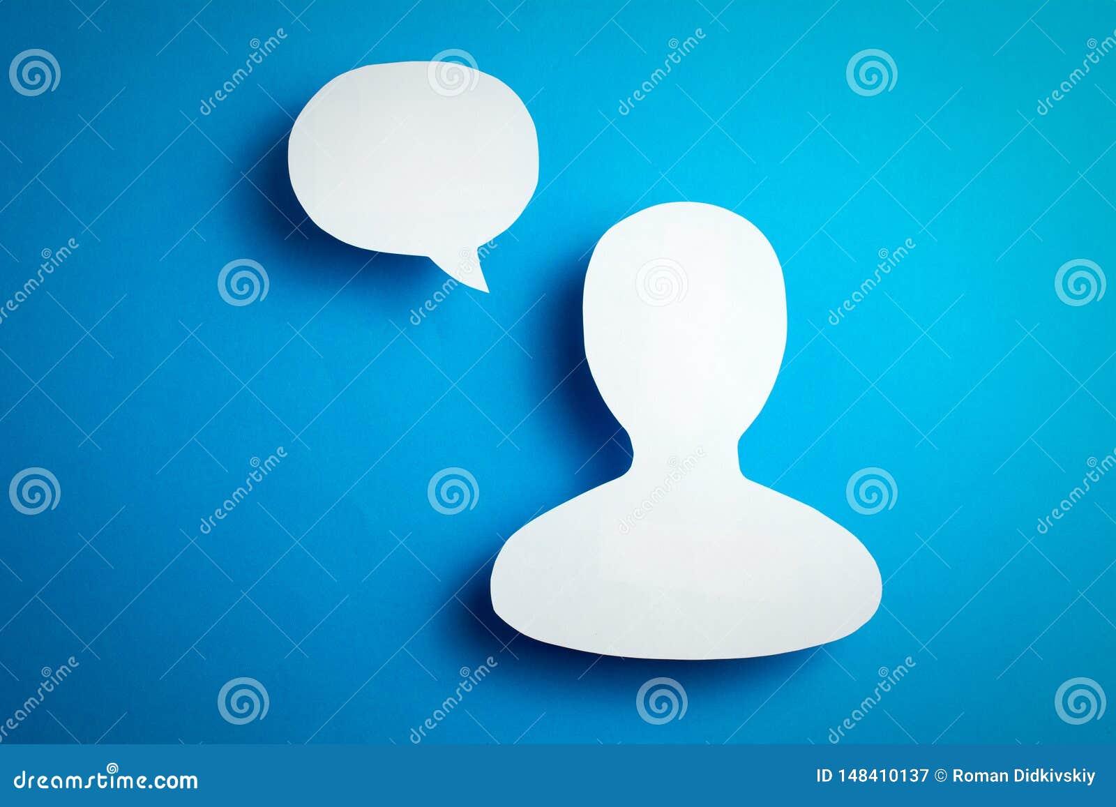 Gebruikers van het sociale netwerken blogging en online overseinen