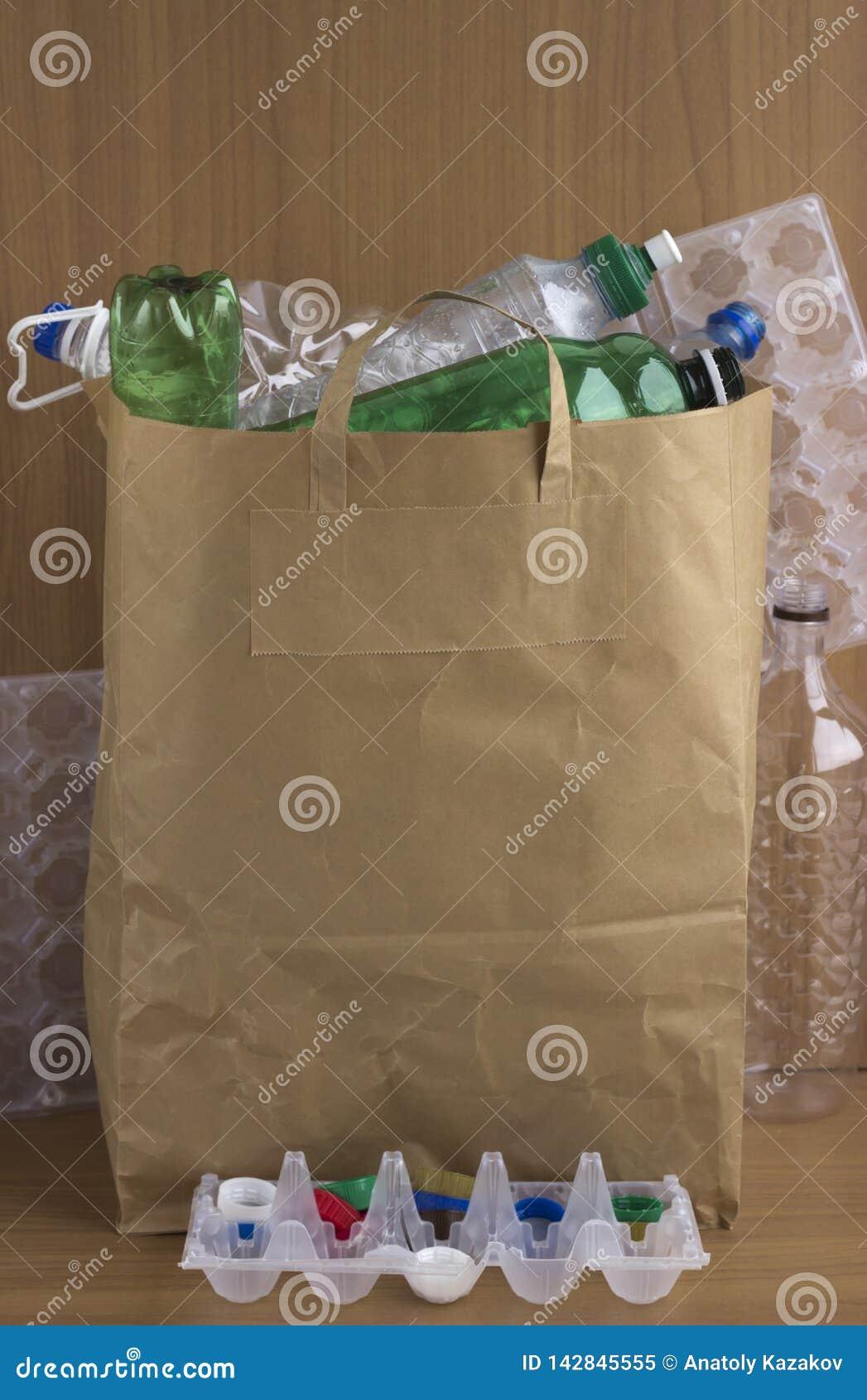 Gebruiks milieuvriendelijke document zak