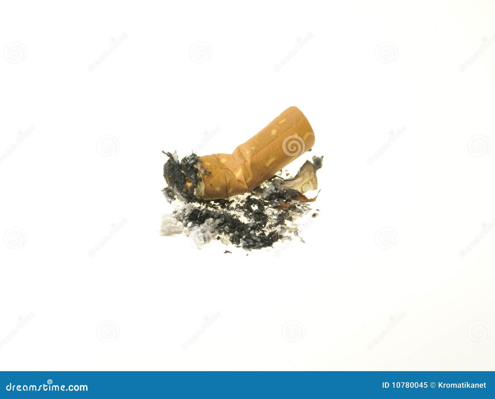 Gebruikte sigaret