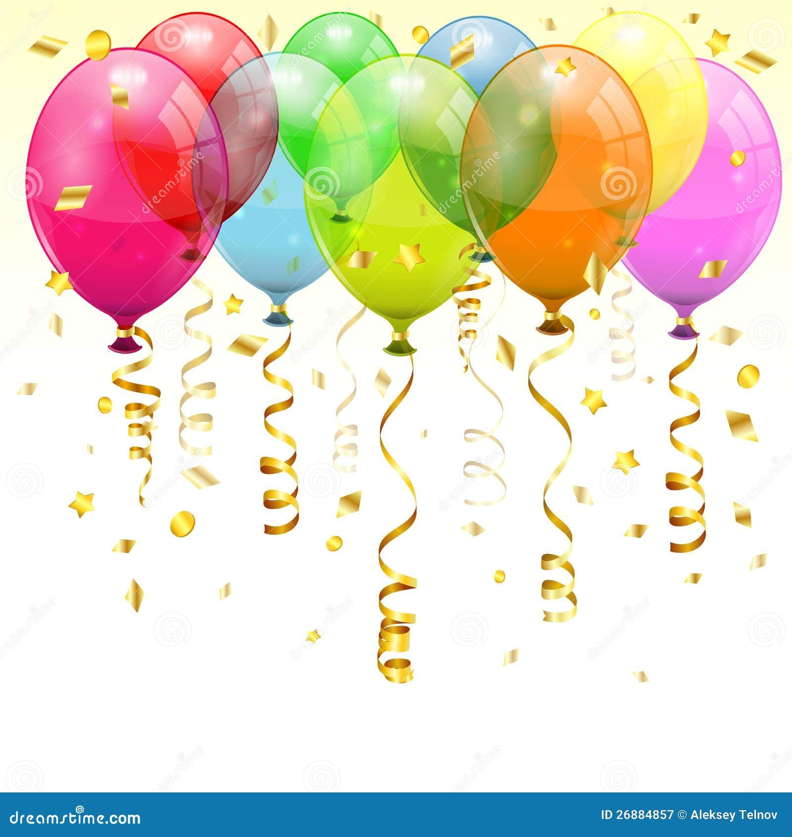 geburtstag ballone vektor abbildung illustration von ballone 26884857 Happy Birthday Animations Free Download Happy Birthday Images Free Download