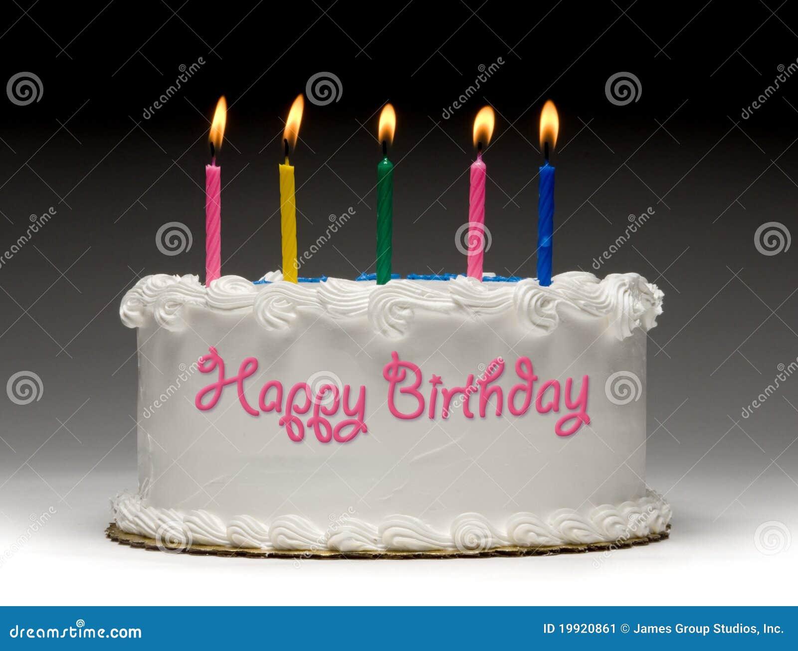 Geburtstag-Kuchen-Profil