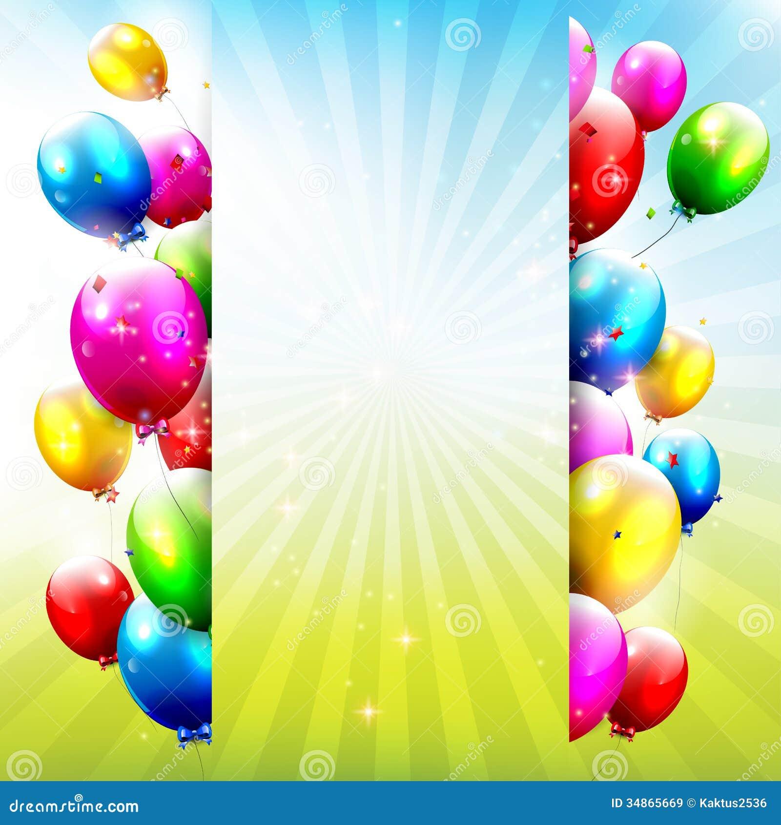 Decorative Cake Rainbow Banner