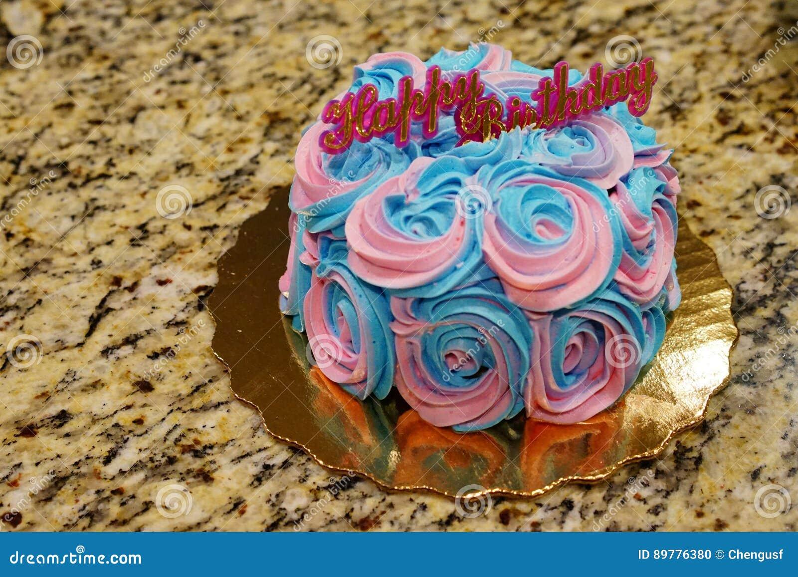Geburtstagscremekuchen