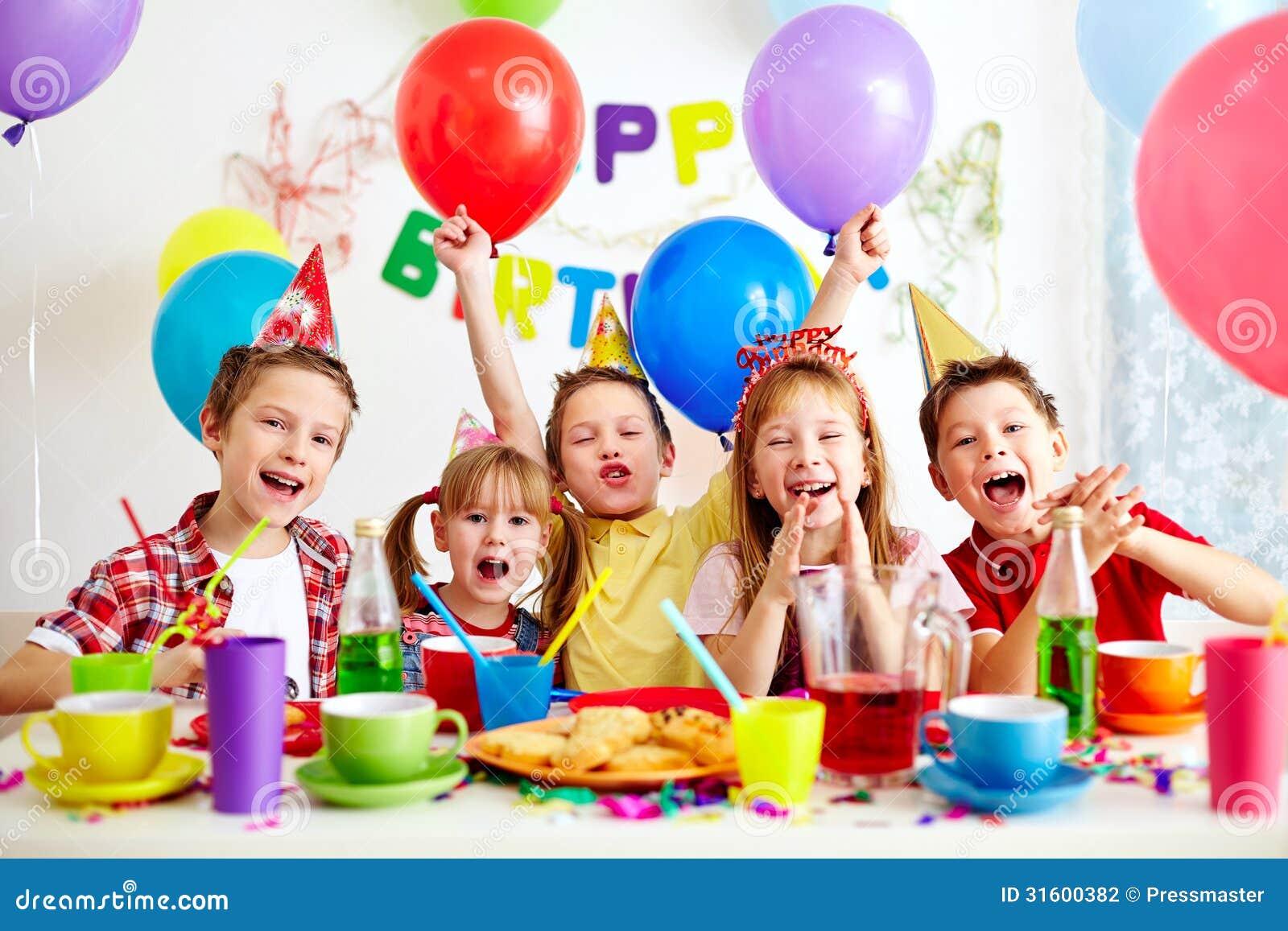 Веселые детские конкурсы на день рождения