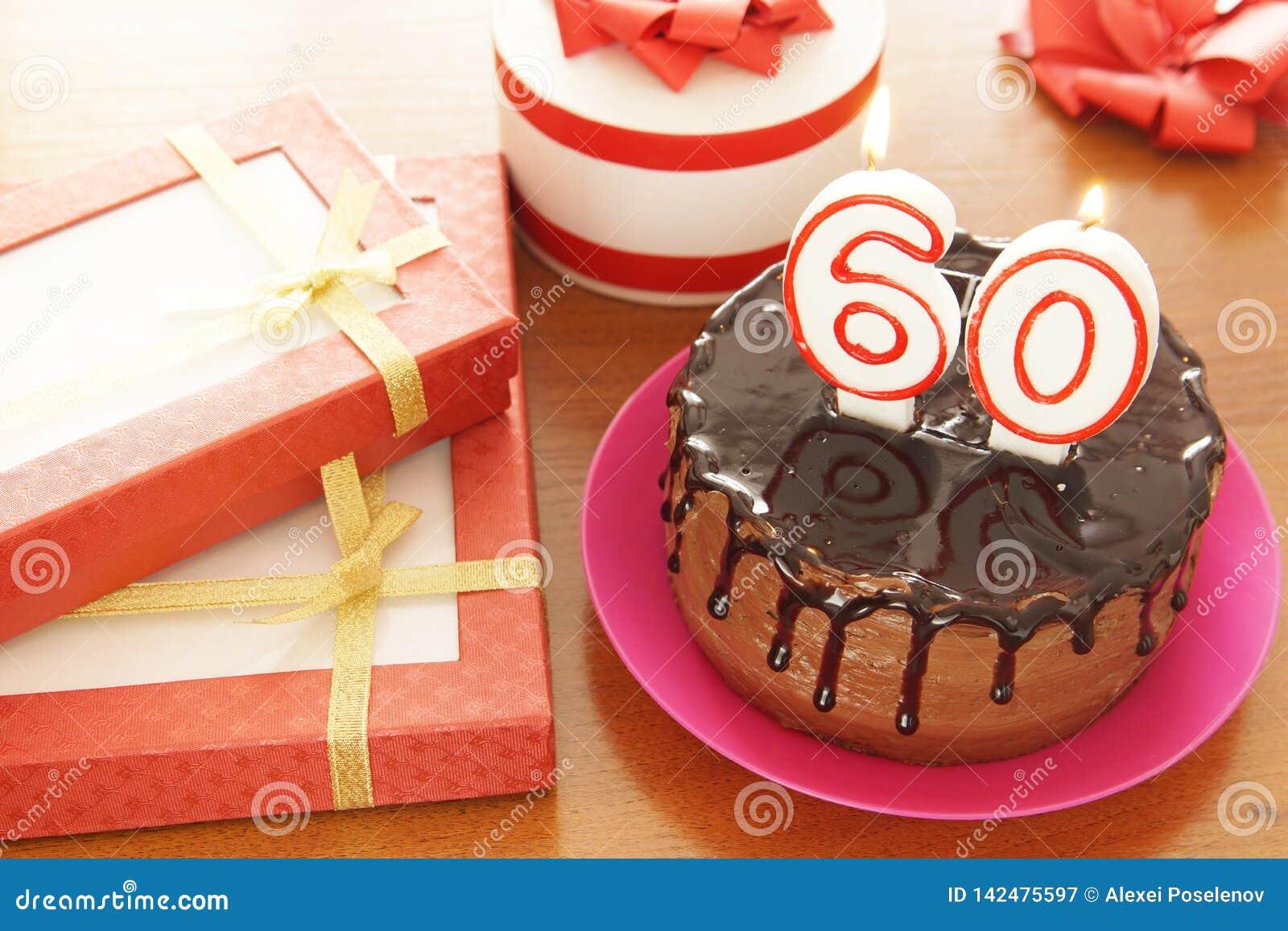 Geburtstagsfeier bei sechzig Jahren