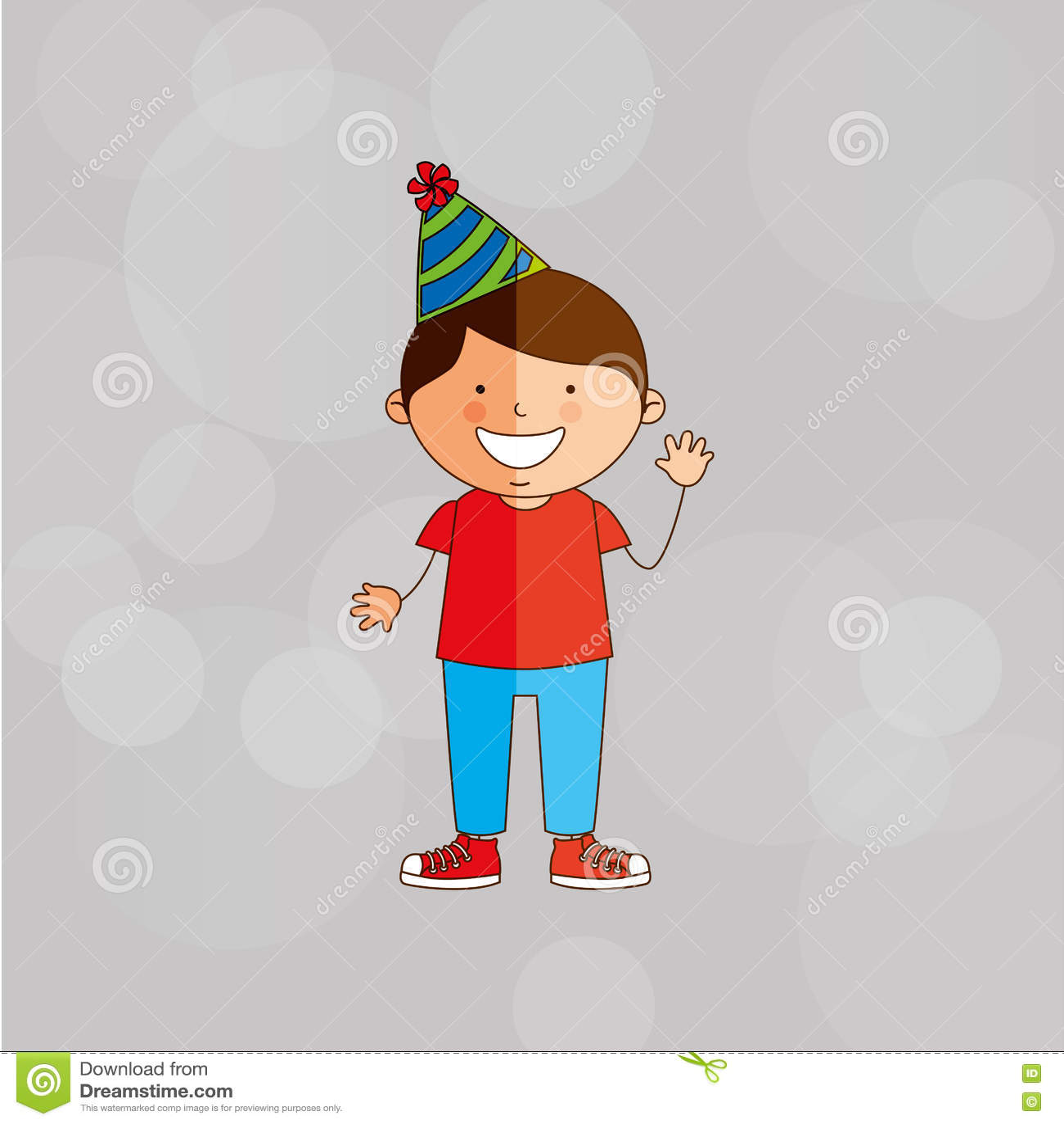 Geburtstagsfeierdesign