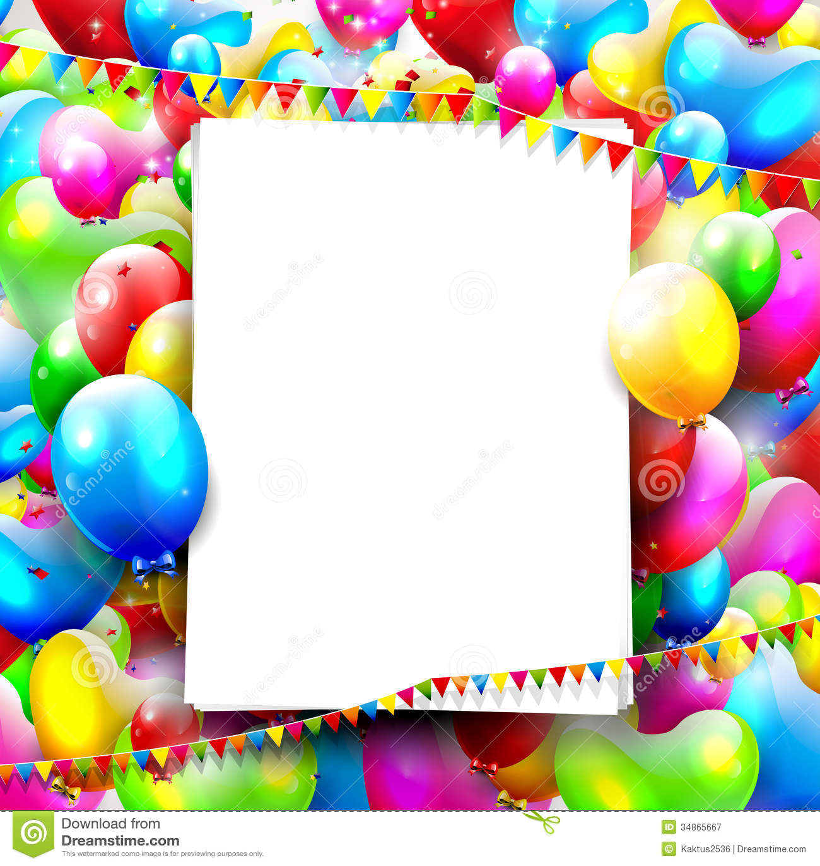 Geburtstagshintergrund Lizenzfreie Stockfotografie - Bild ...