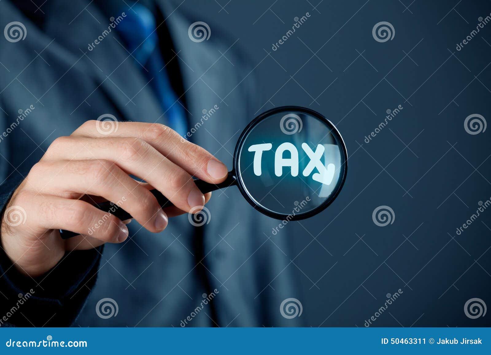 Geconcentreerd op belasting