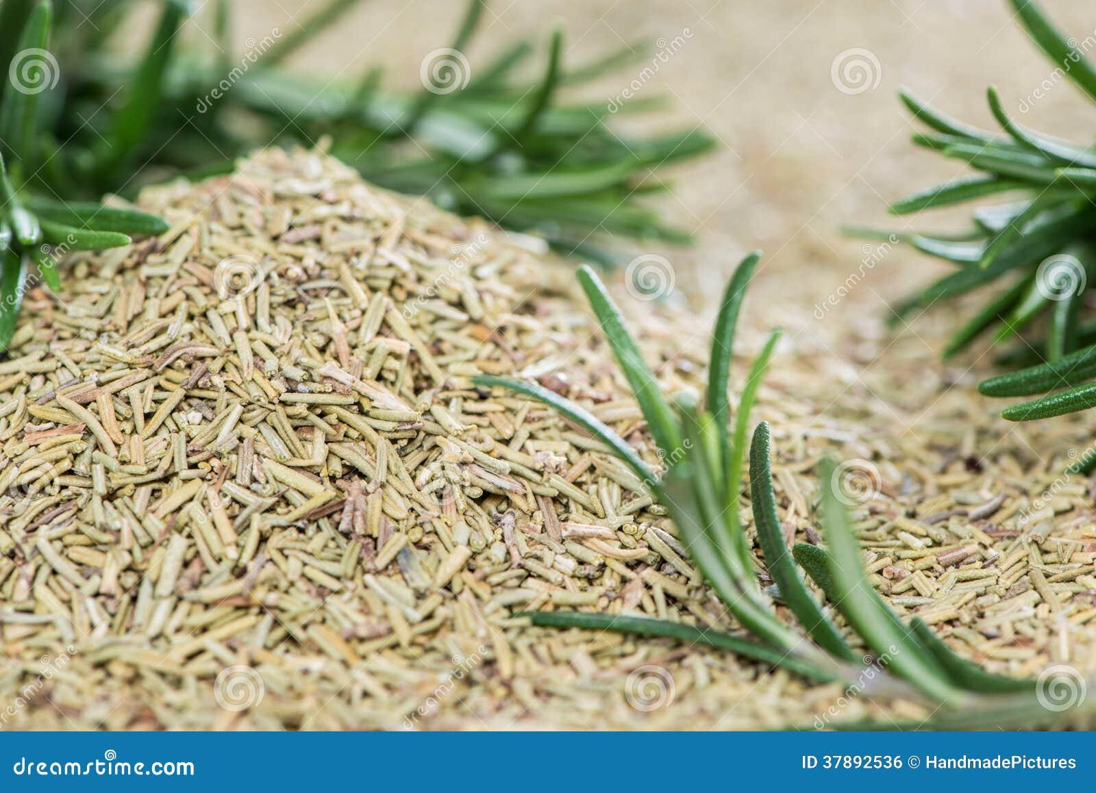 Gedeelte van droge Rosemary