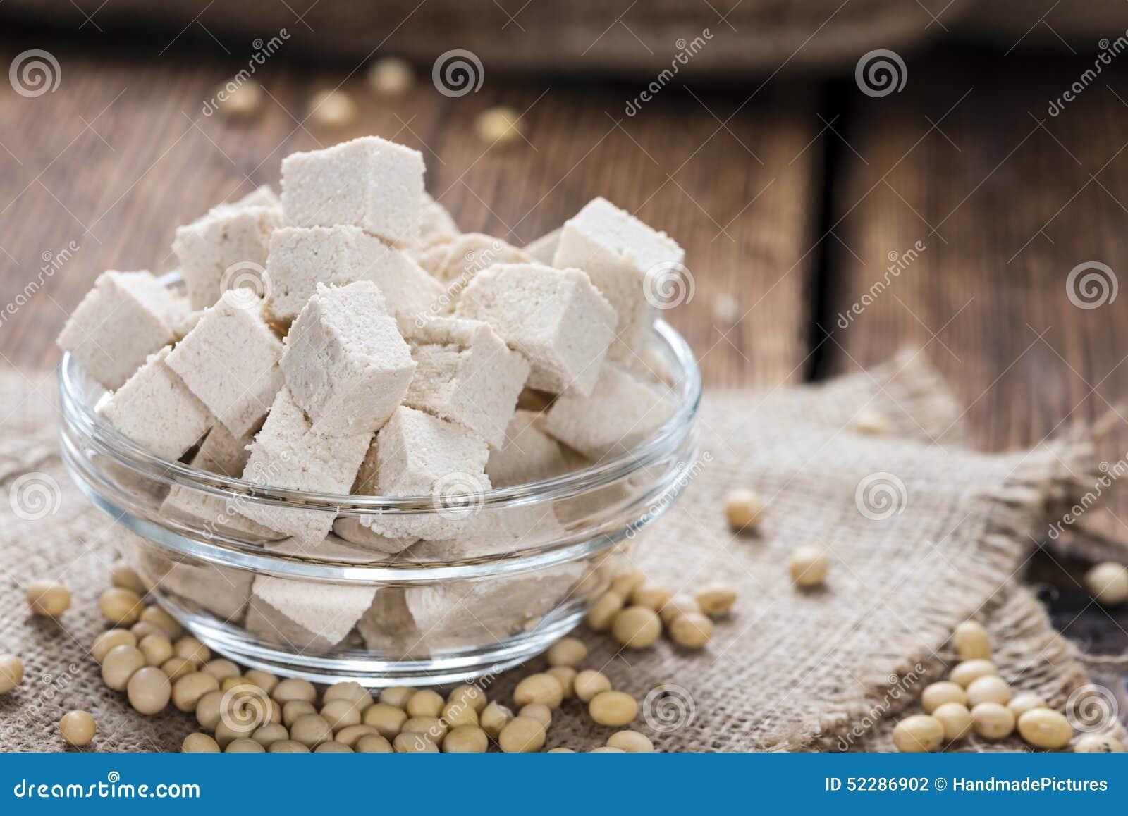 Gedeelte van Tofu