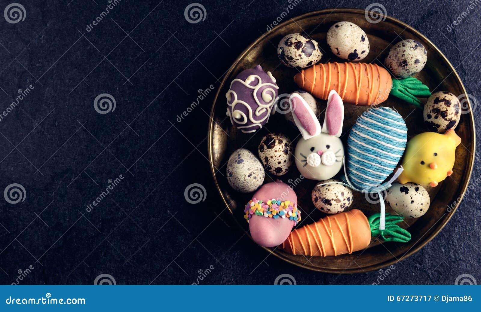 Gediende Pasen-plaat
