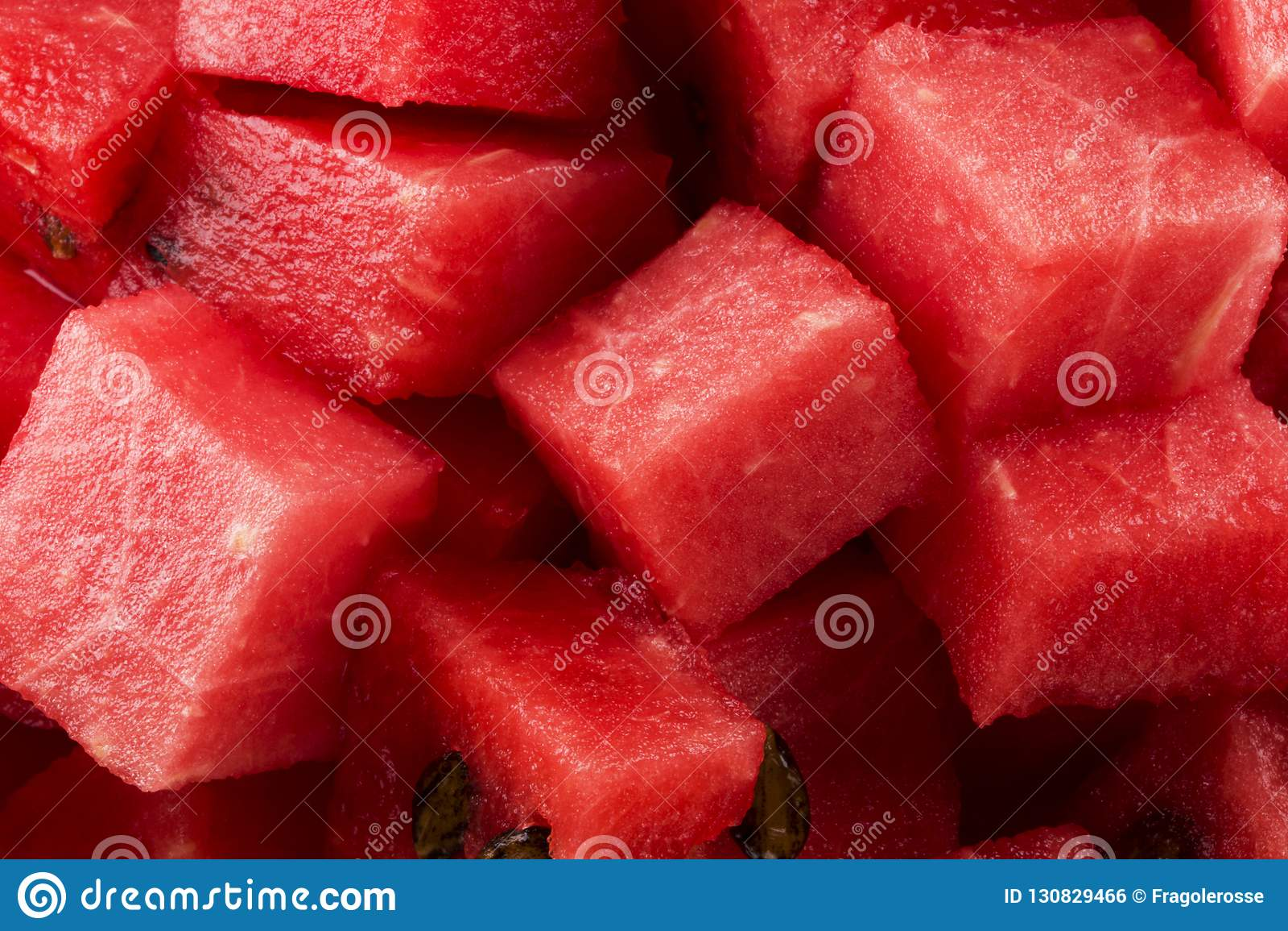 Gedobbelde watermeloen