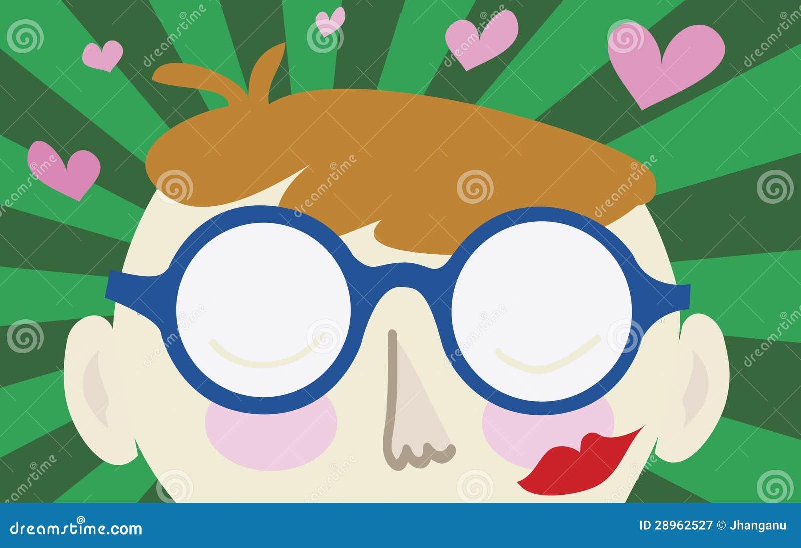 Geek falling in love