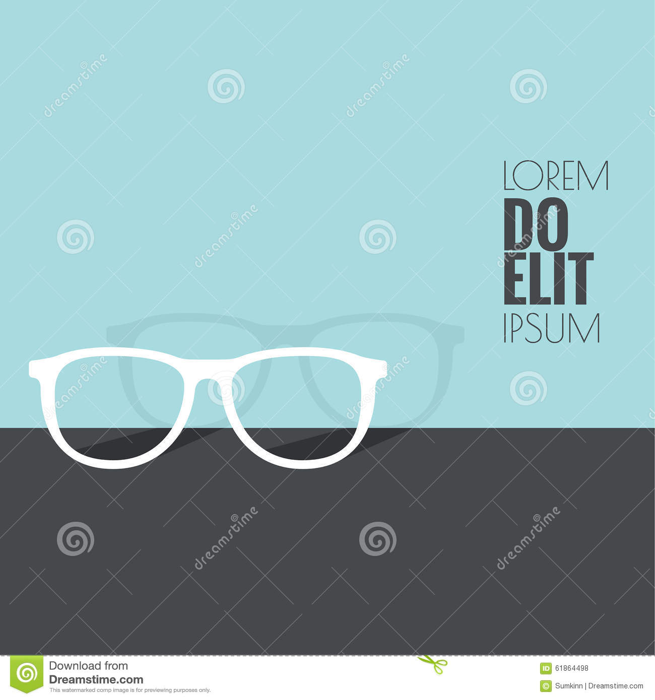 Geek glasses icon cartoon vector 52550739 for T shirt design maker app