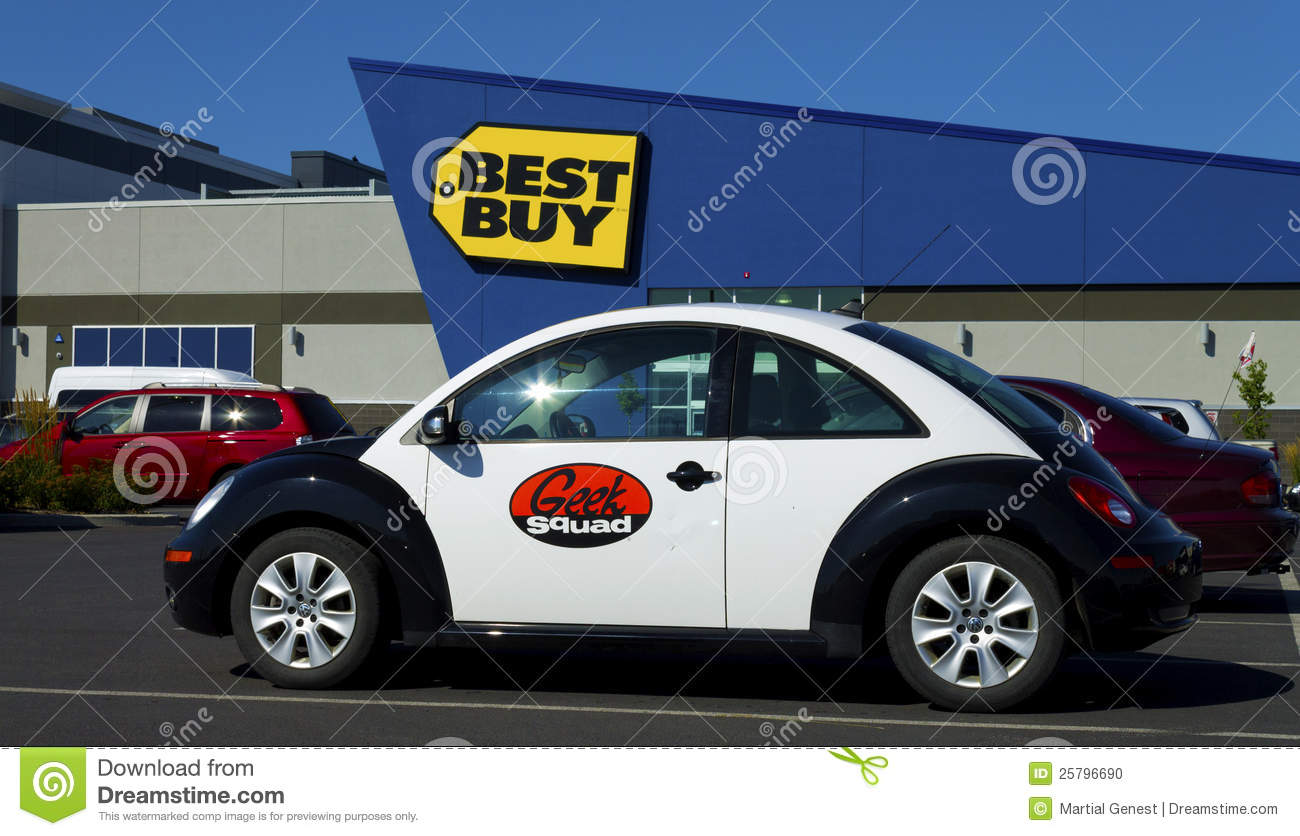 Geek Squad Car Editorial Image - Image: 25796690