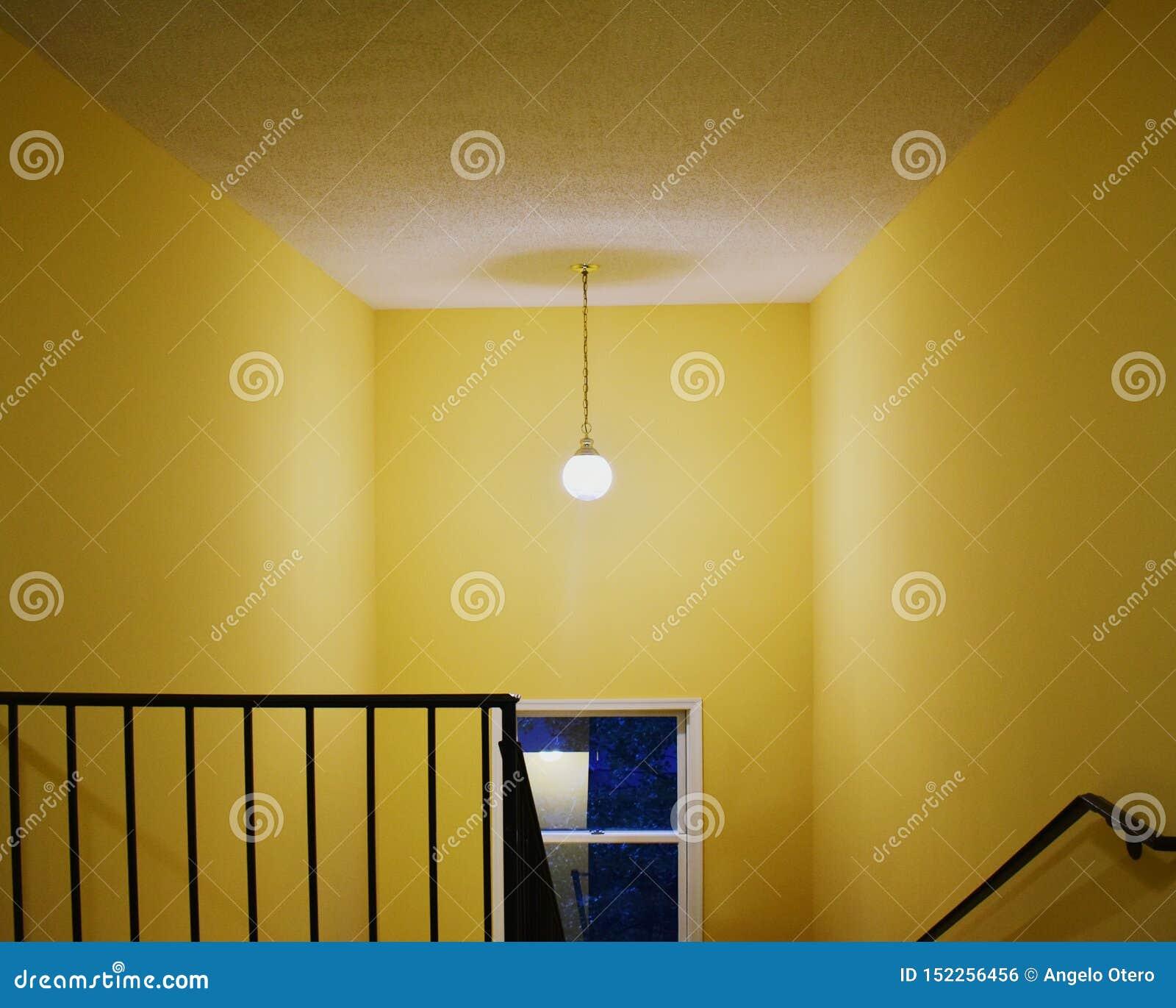 Geel Trappenhuis, Binnen, Huis, Virginia