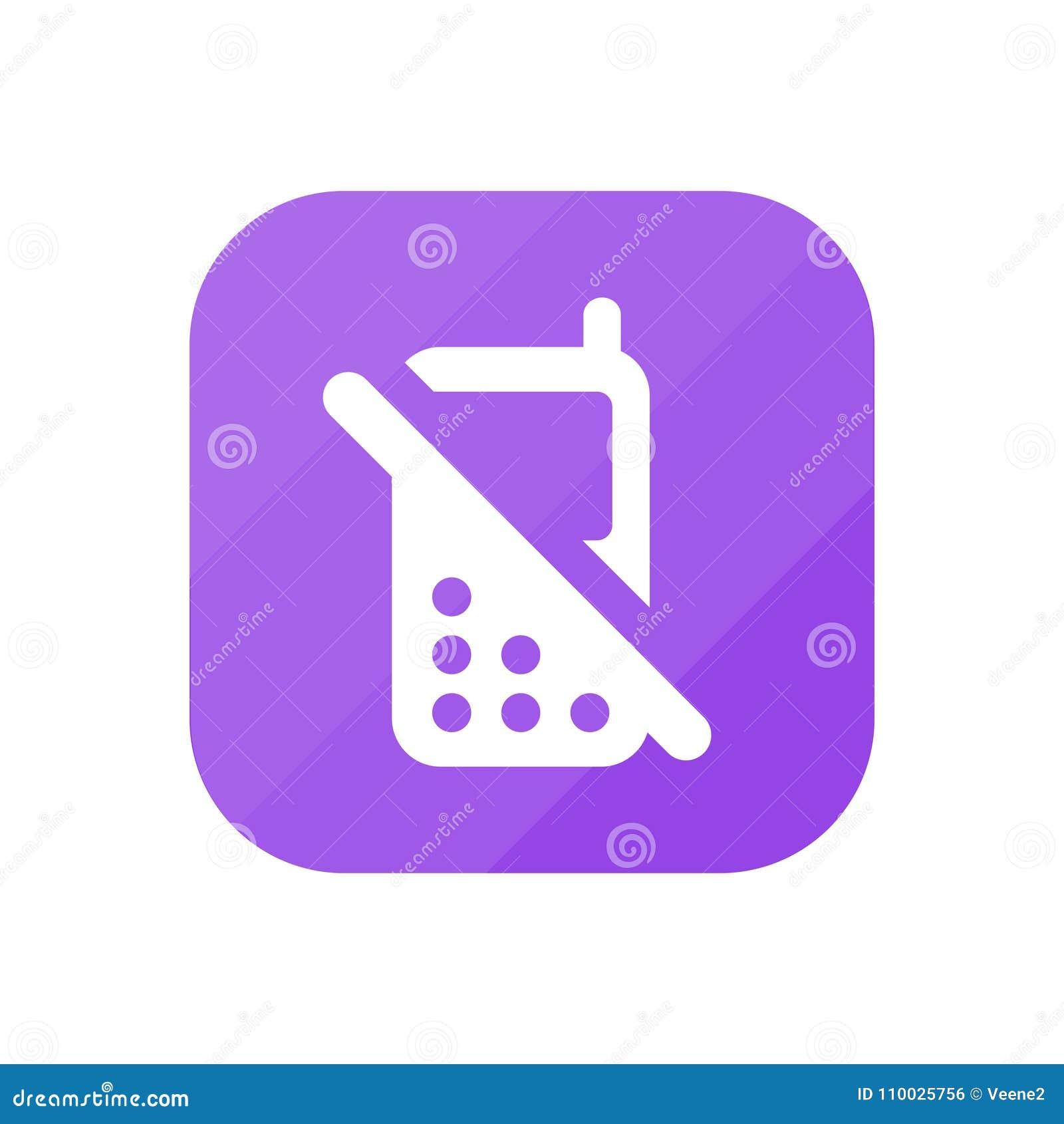 Geen Mobiel - App Pictogram