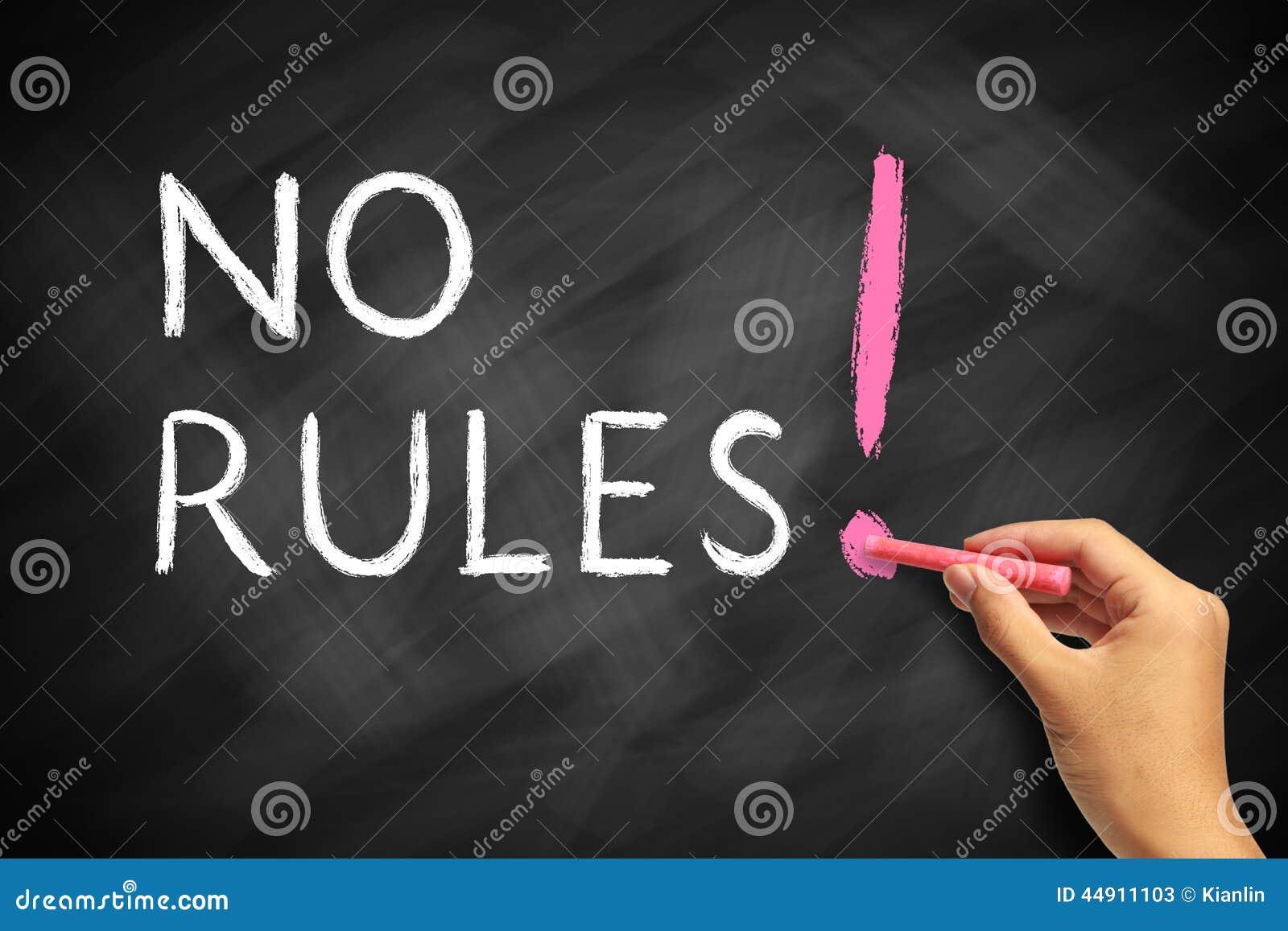 Geen Regels