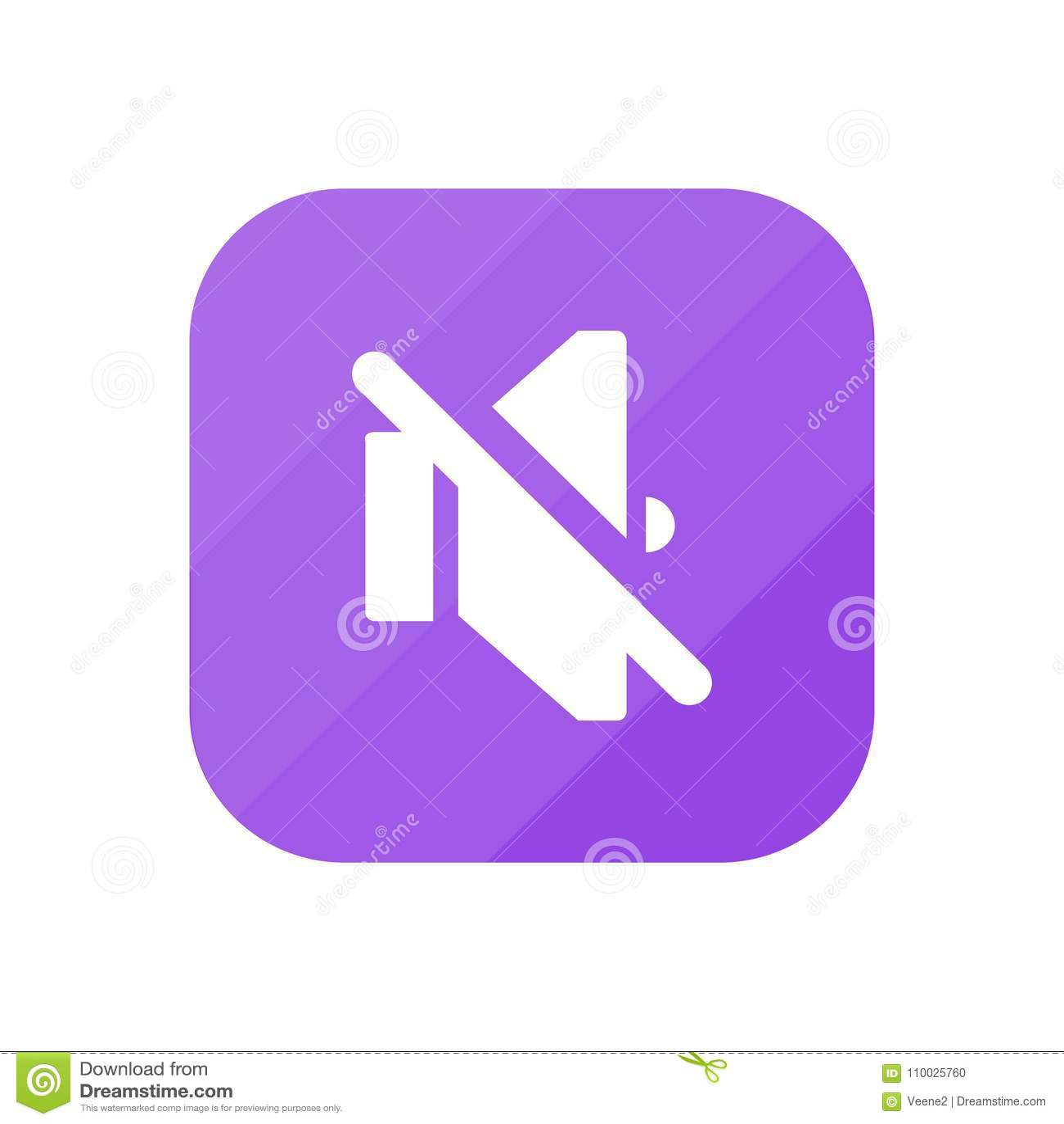 Geen Volume - App Pictogram