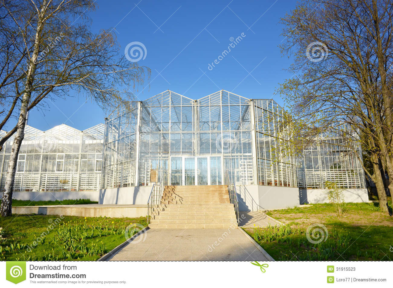 Geenhouse Exterior Architecture Stock Image Image 31915523
