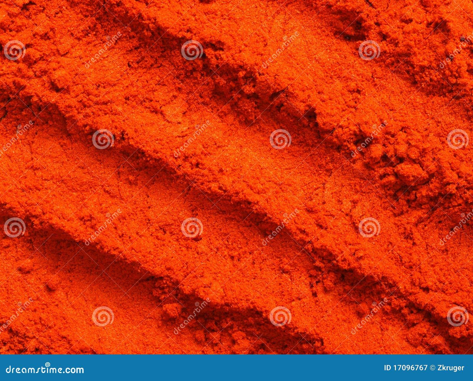 Geerdeter roter Paprika