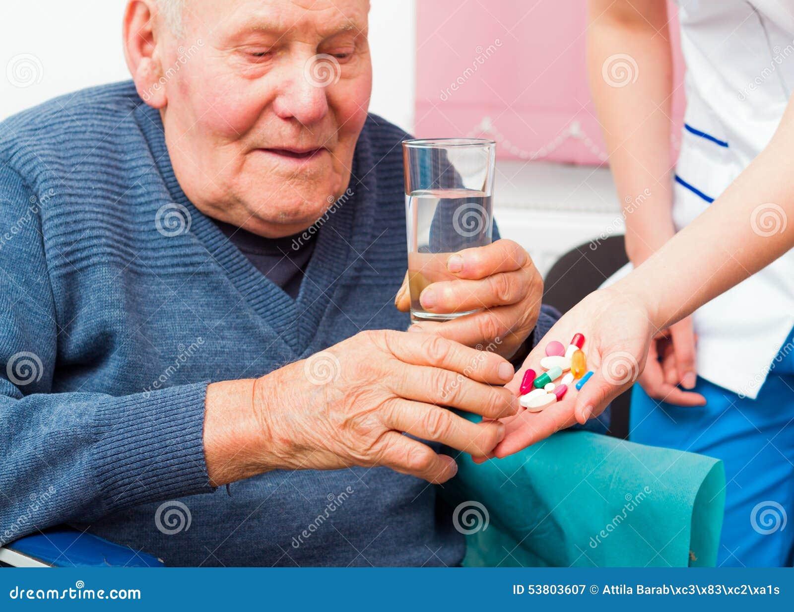 Geestelijke ziekte in de bejaarden