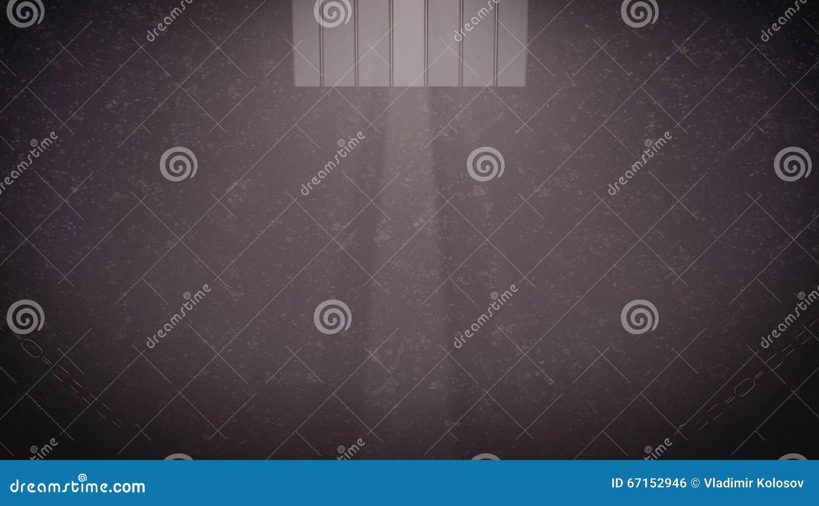 Gefängniszellenfenster
