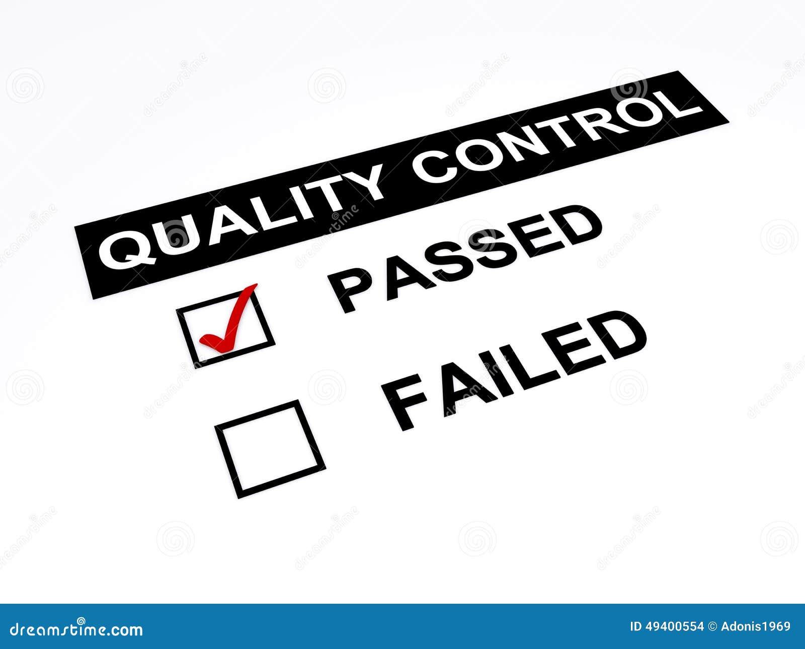 Download Geführte Qualitätskontrolle Stock Abbildung - Illustration von qualität, steuerung: 49400554