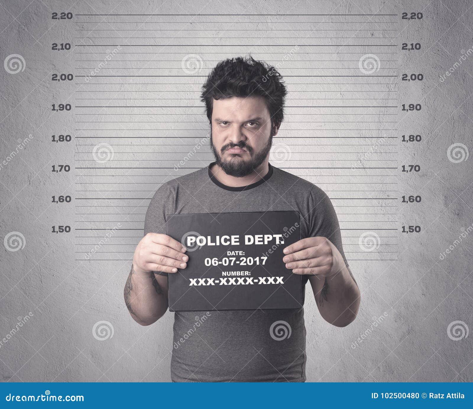 Gefangener Straftäter
