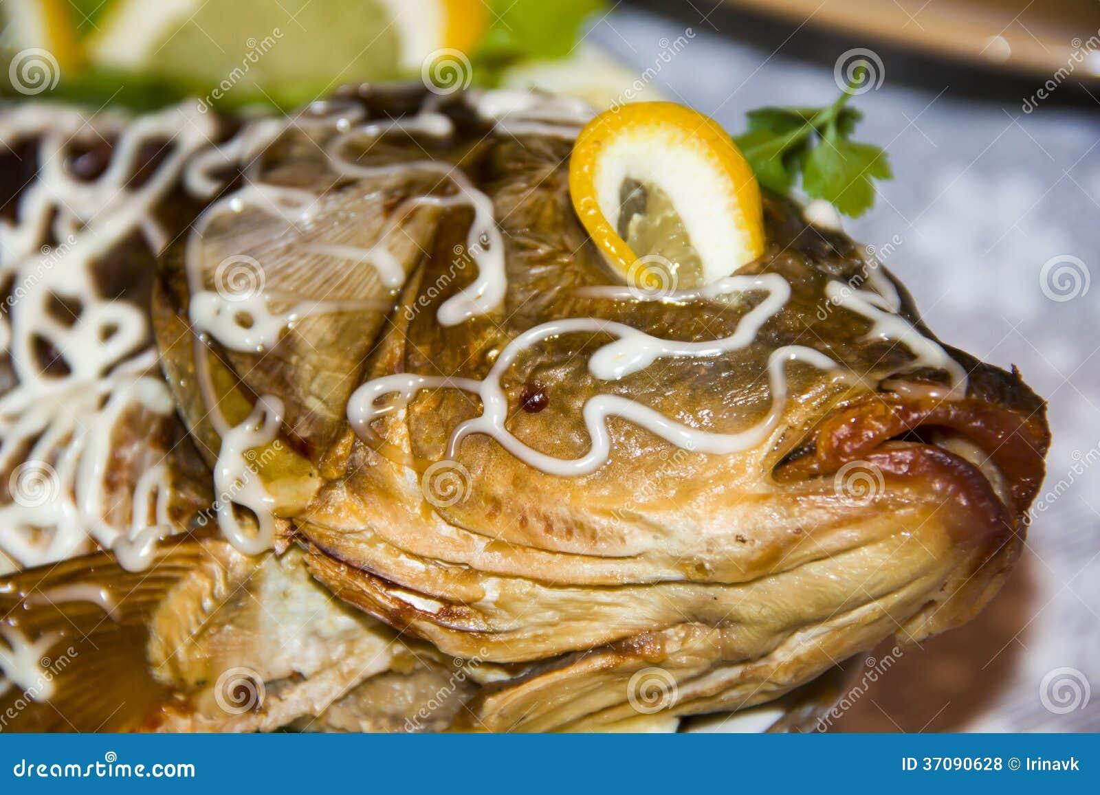 Download Gefilte ryba zdjęcie stock. Obraz złożonej z diner, ludzie - 37090628