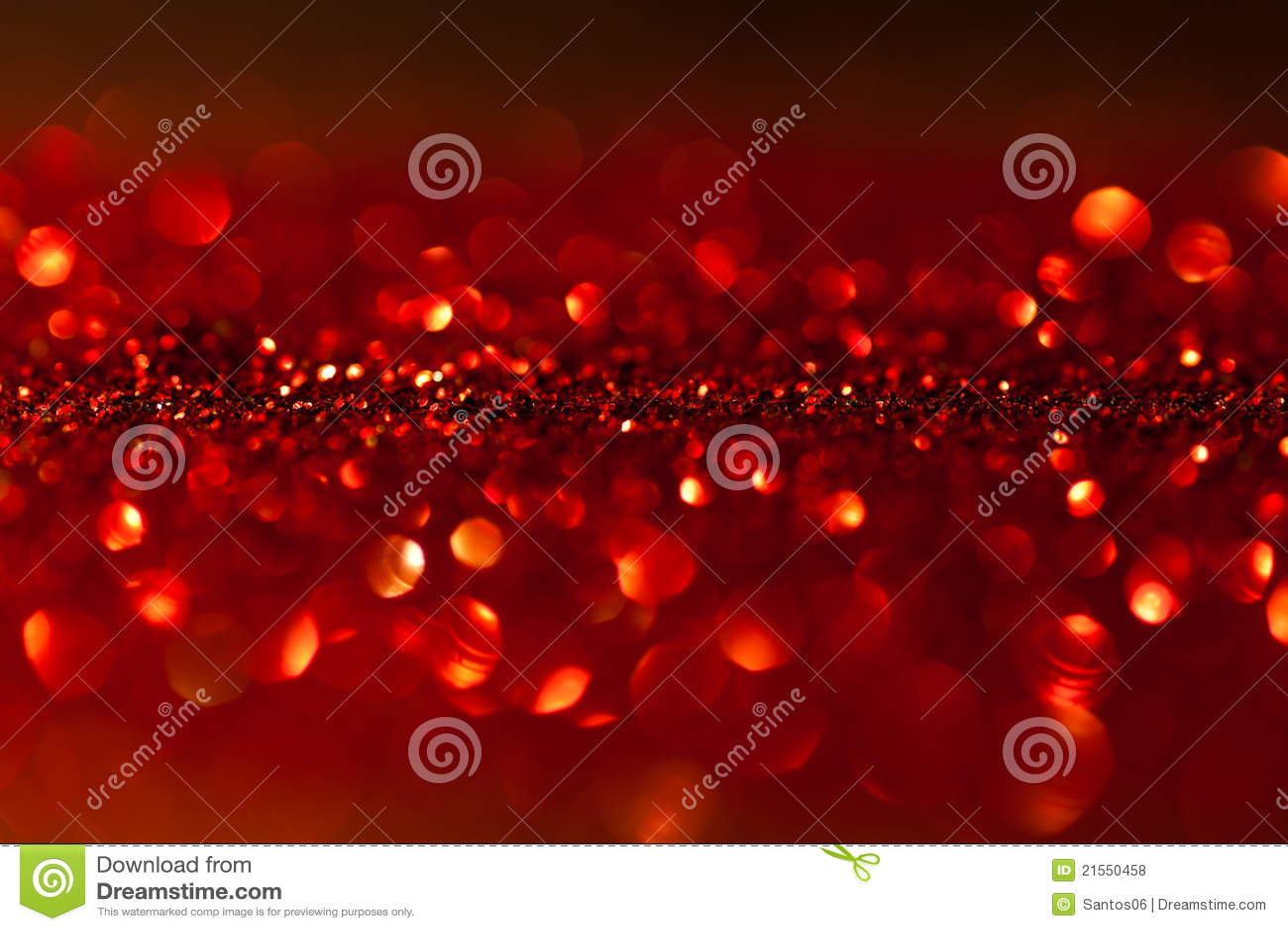 Gefonkelde rode achtergrond - Kerstmis