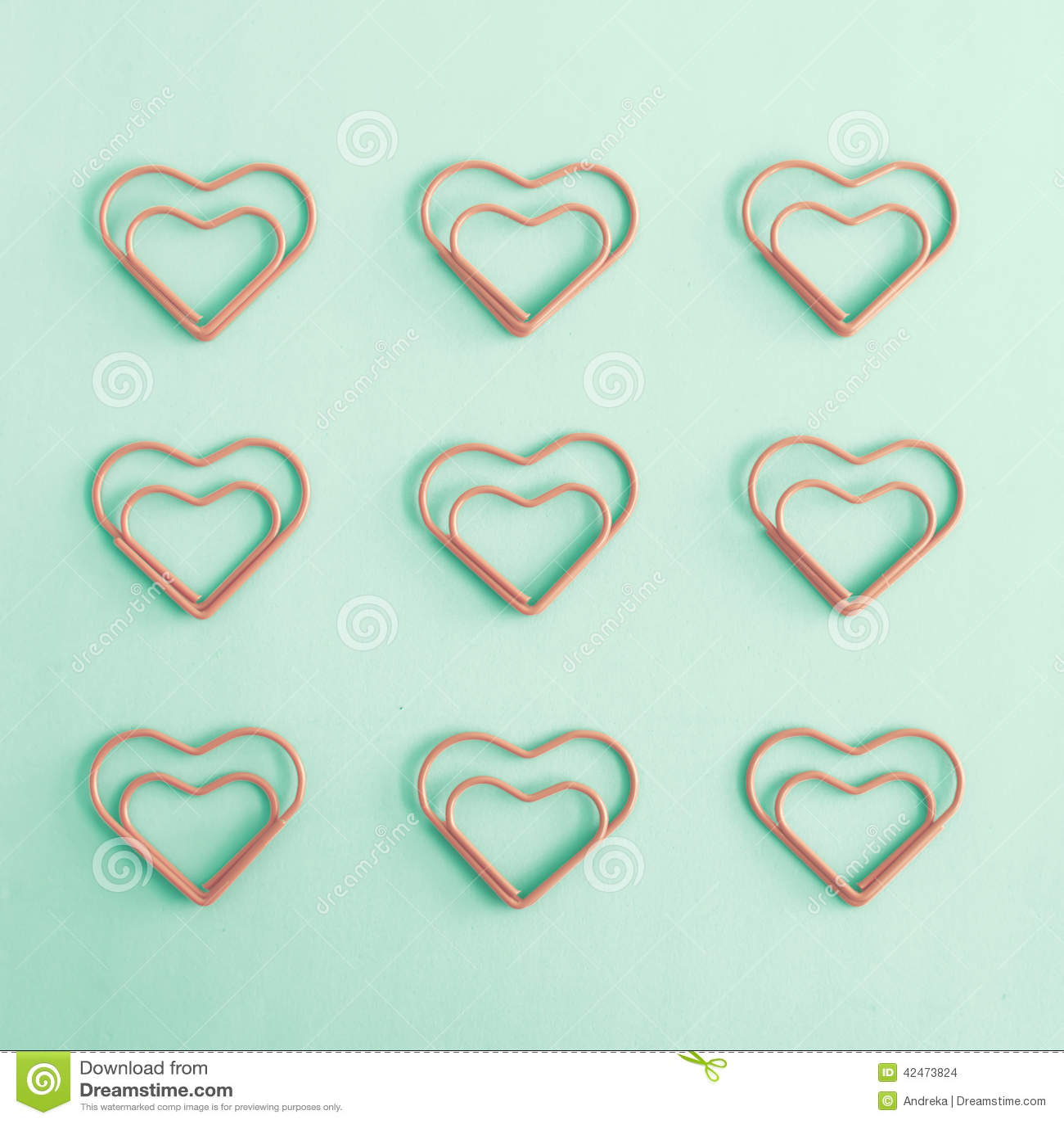 Geformte Klipp des Herzens