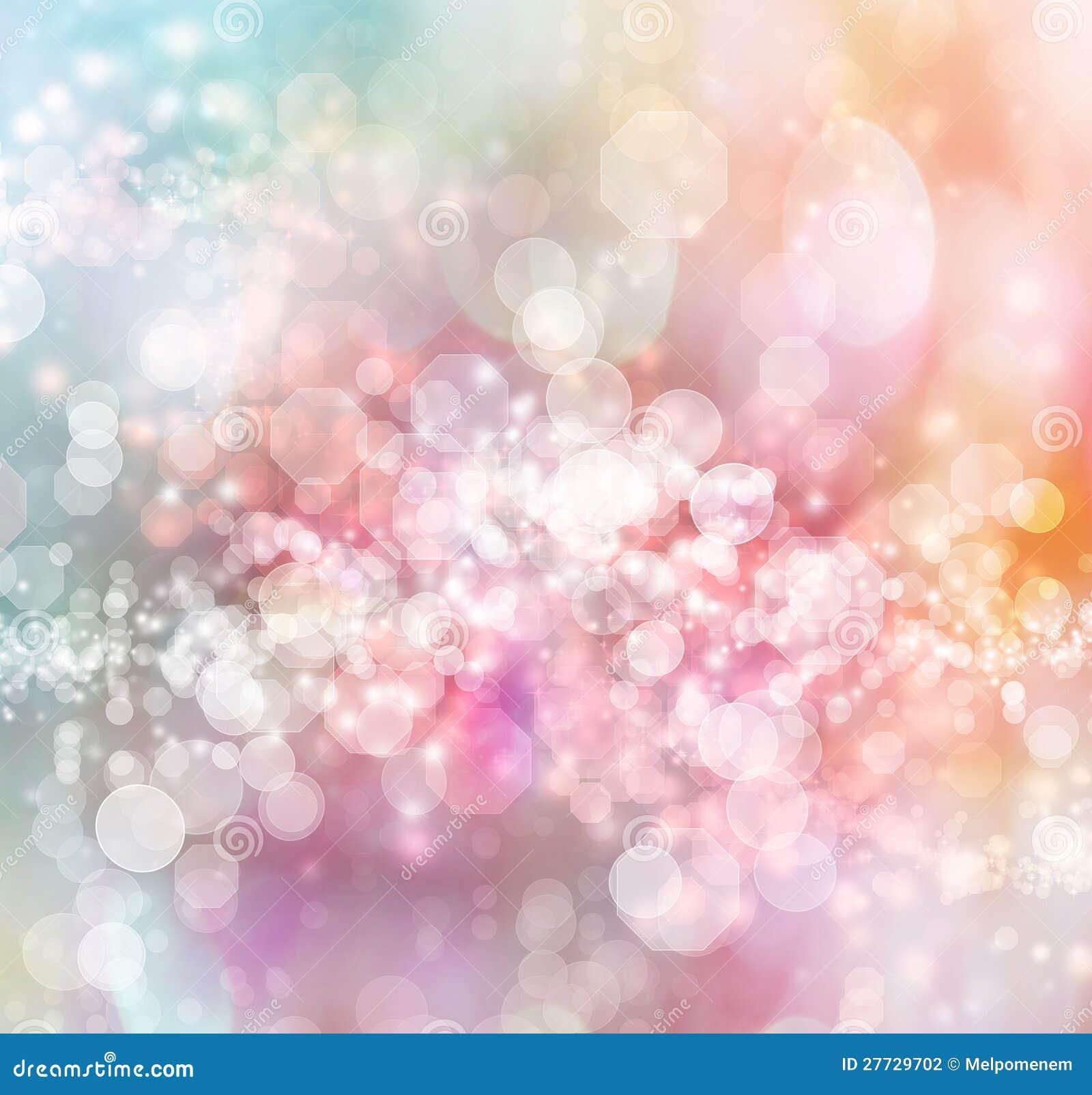 Geformter Leuchtehintergrund des abstrakten Octagon