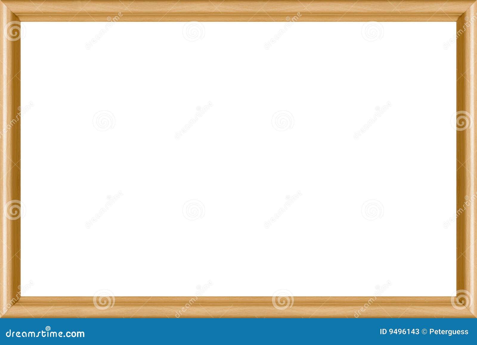 Geformtes Buche-Bilderrahmen-3:2 Stockbild - Bild von feld ...