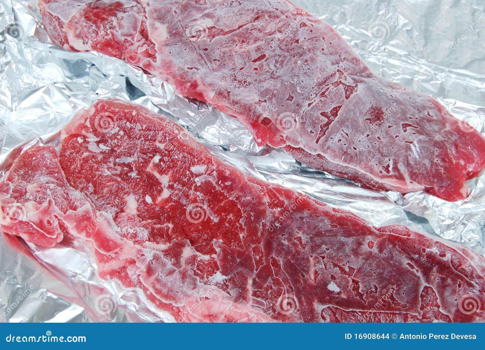 Gefrorenes Fleisch Haltbarkeit