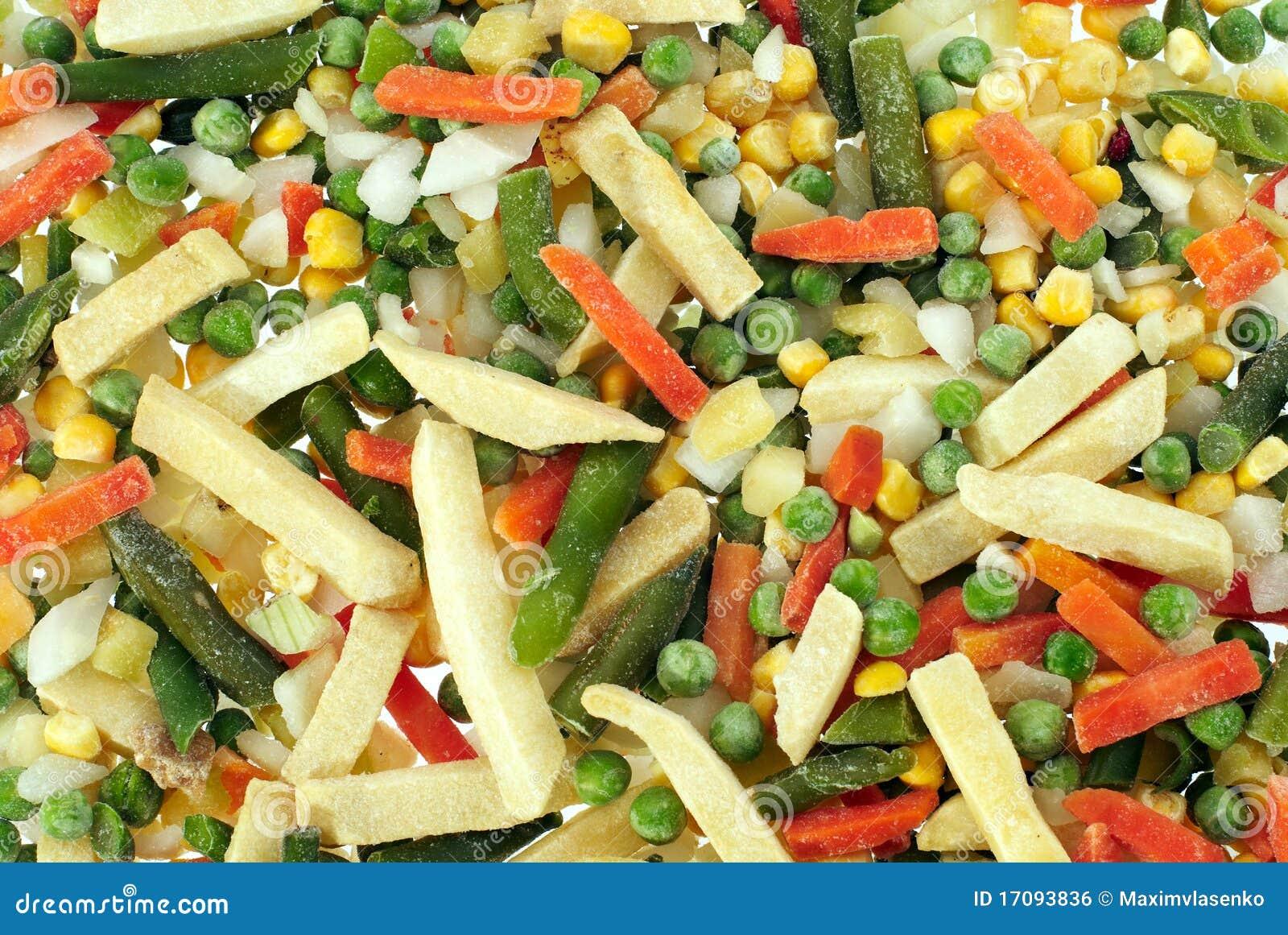 Gefrorenes Gemüse