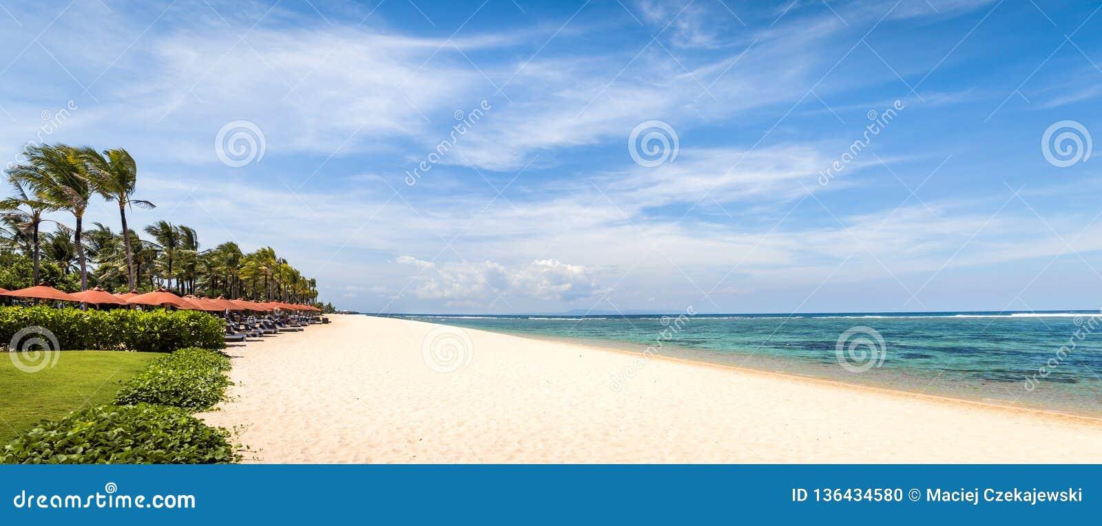 Geger Beach On Bali Island Stock Photo Image Of Asia 136434580