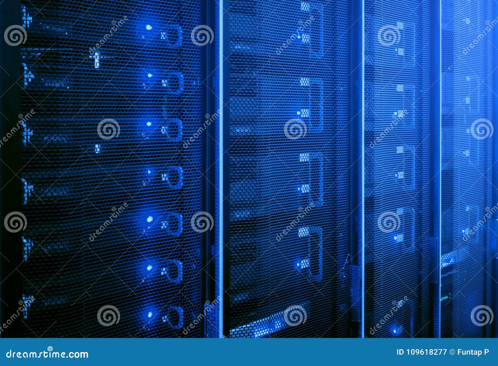 Gegevenscentrum, Serverruimte