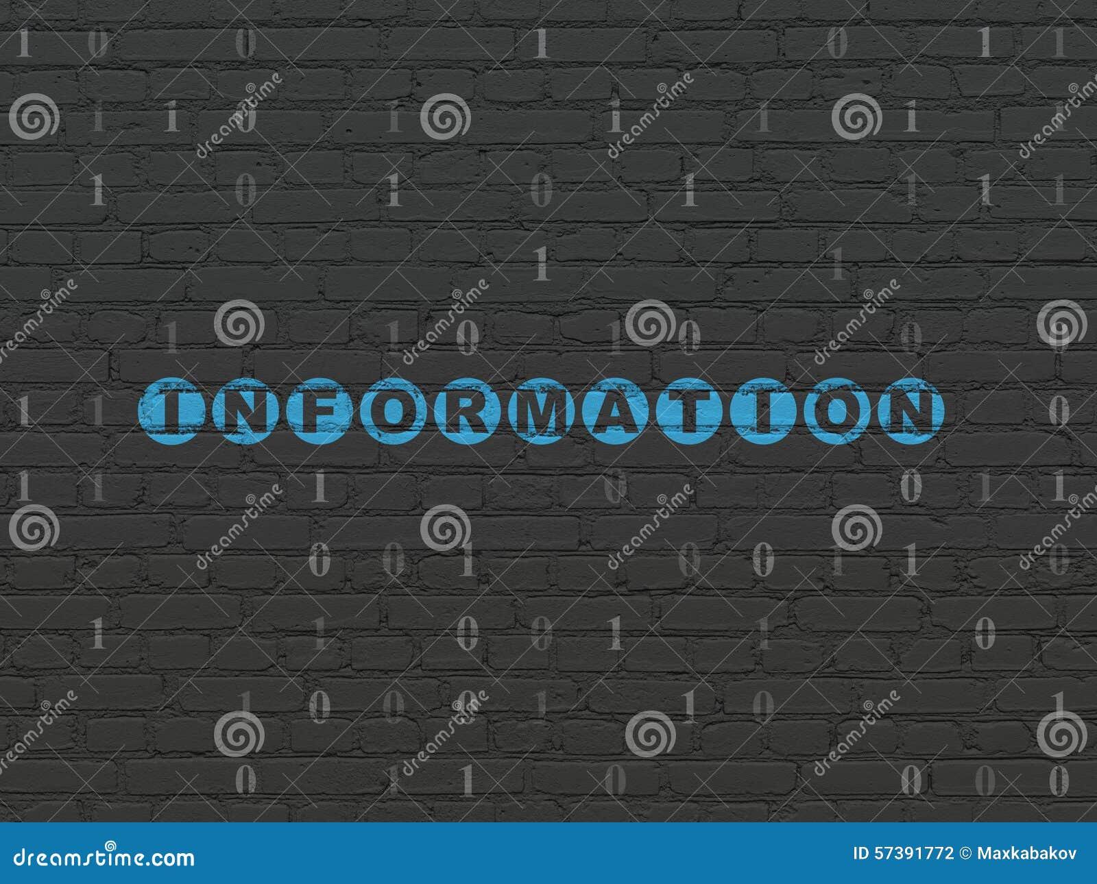 Gegevensconcept: Informatie over muurachtergrond