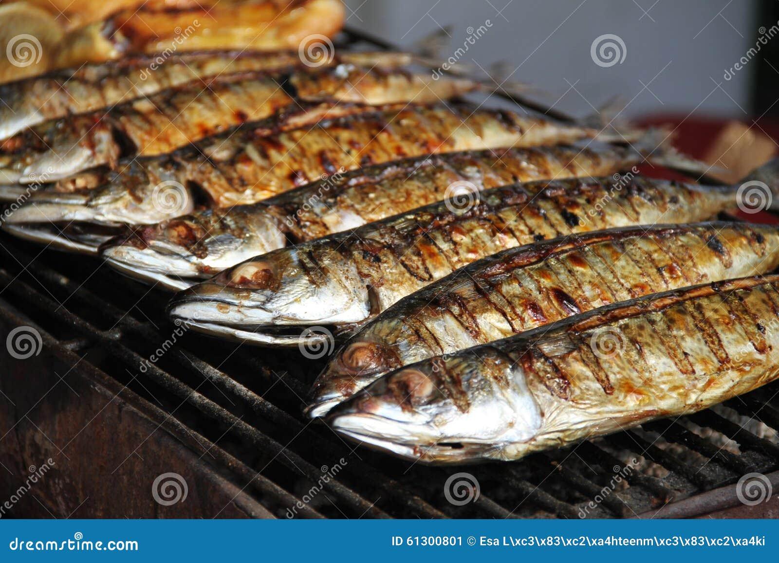 Gegrillte Fische