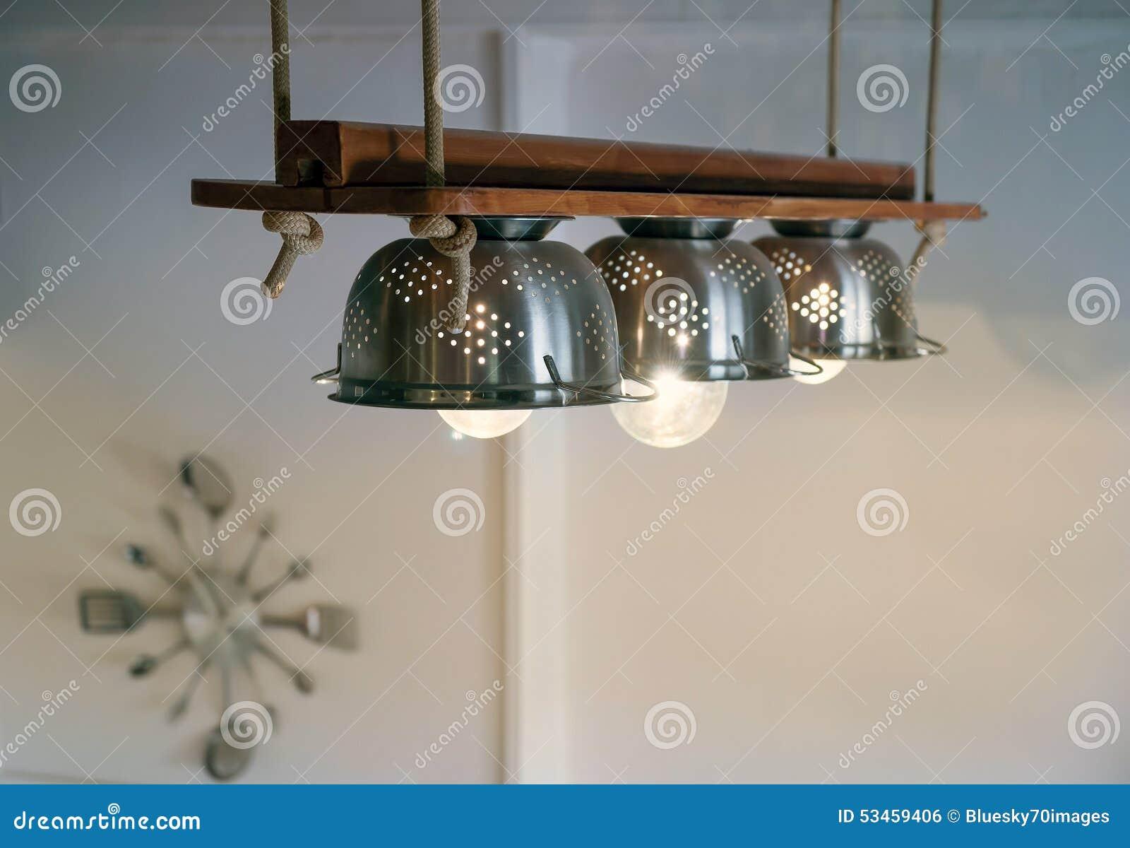 Gehangen Diy Lampen Stock Foto Afbeelding Bestaande Uit Plafond