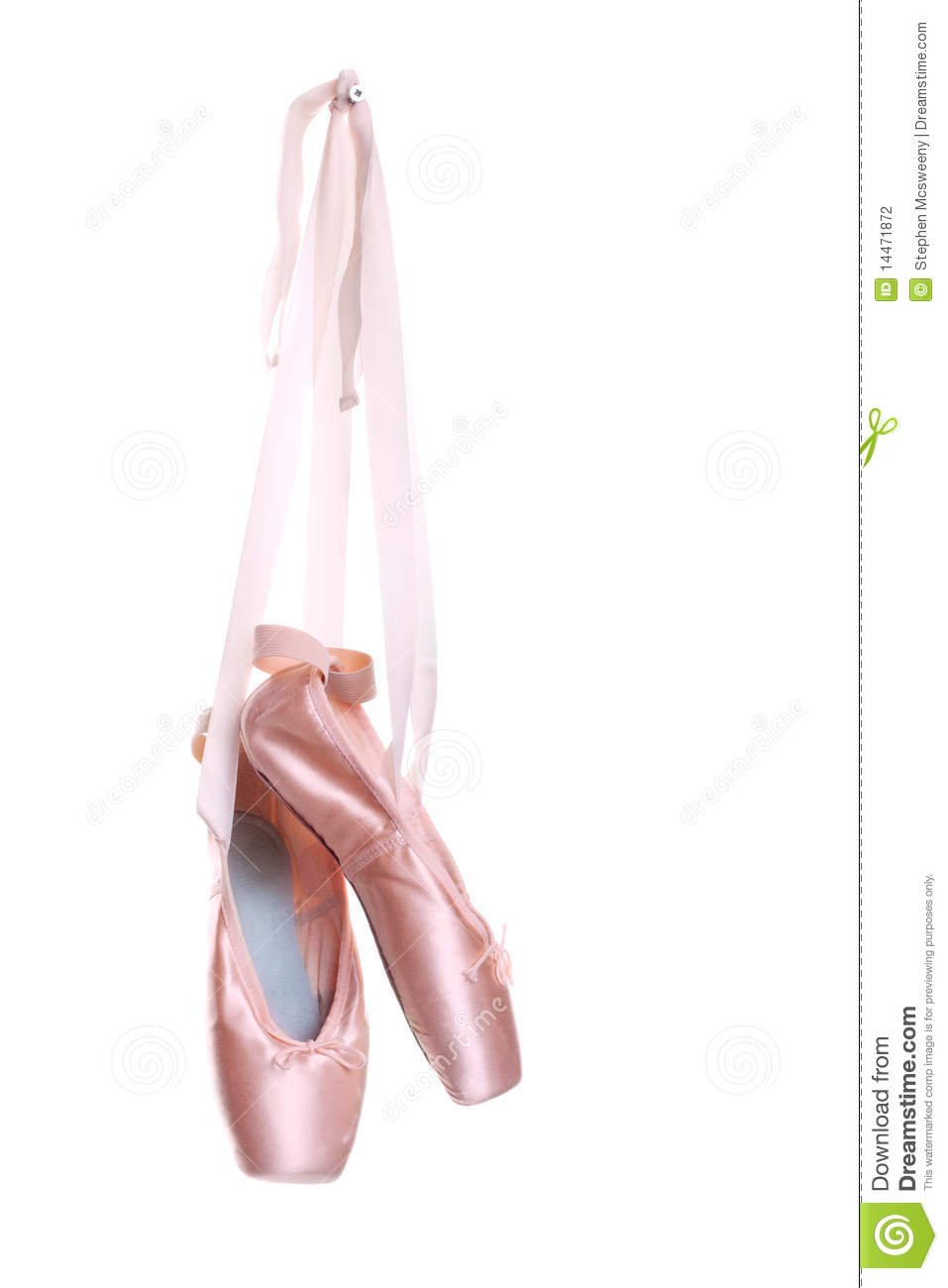 Pointe Toe Ballet Shoes
