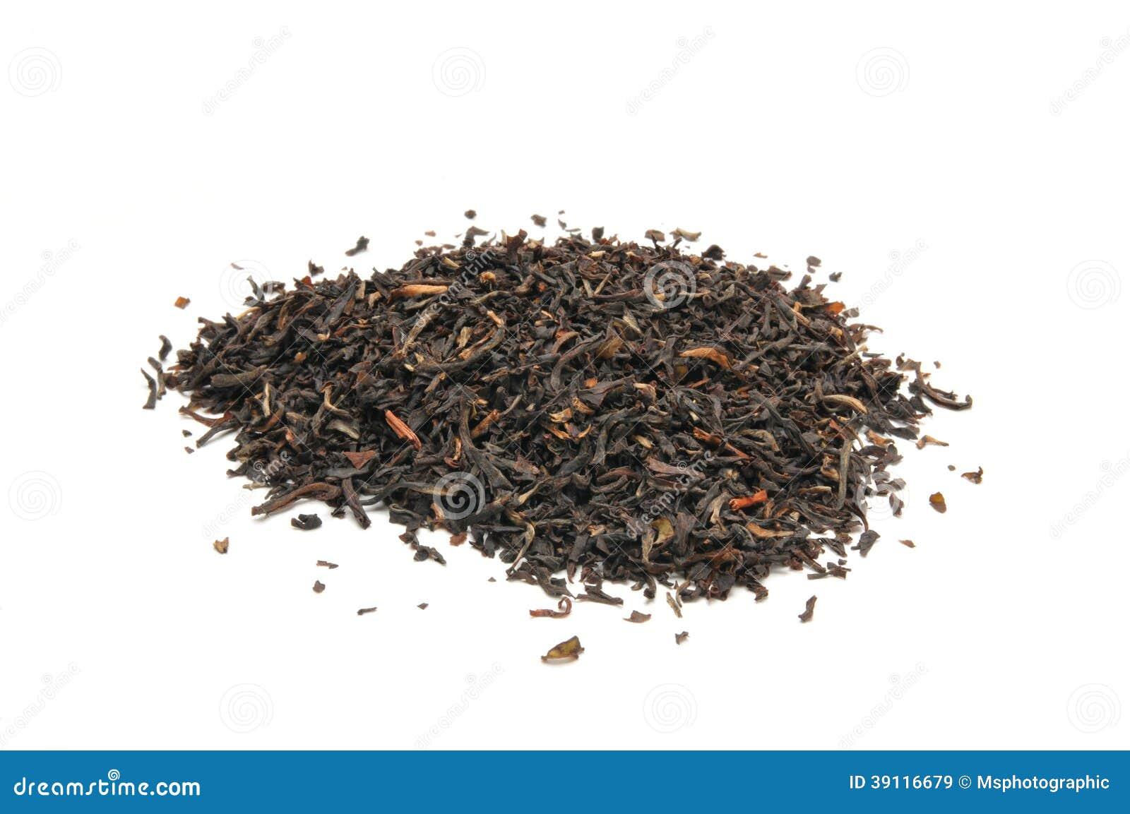Gehele blad zwarte thee