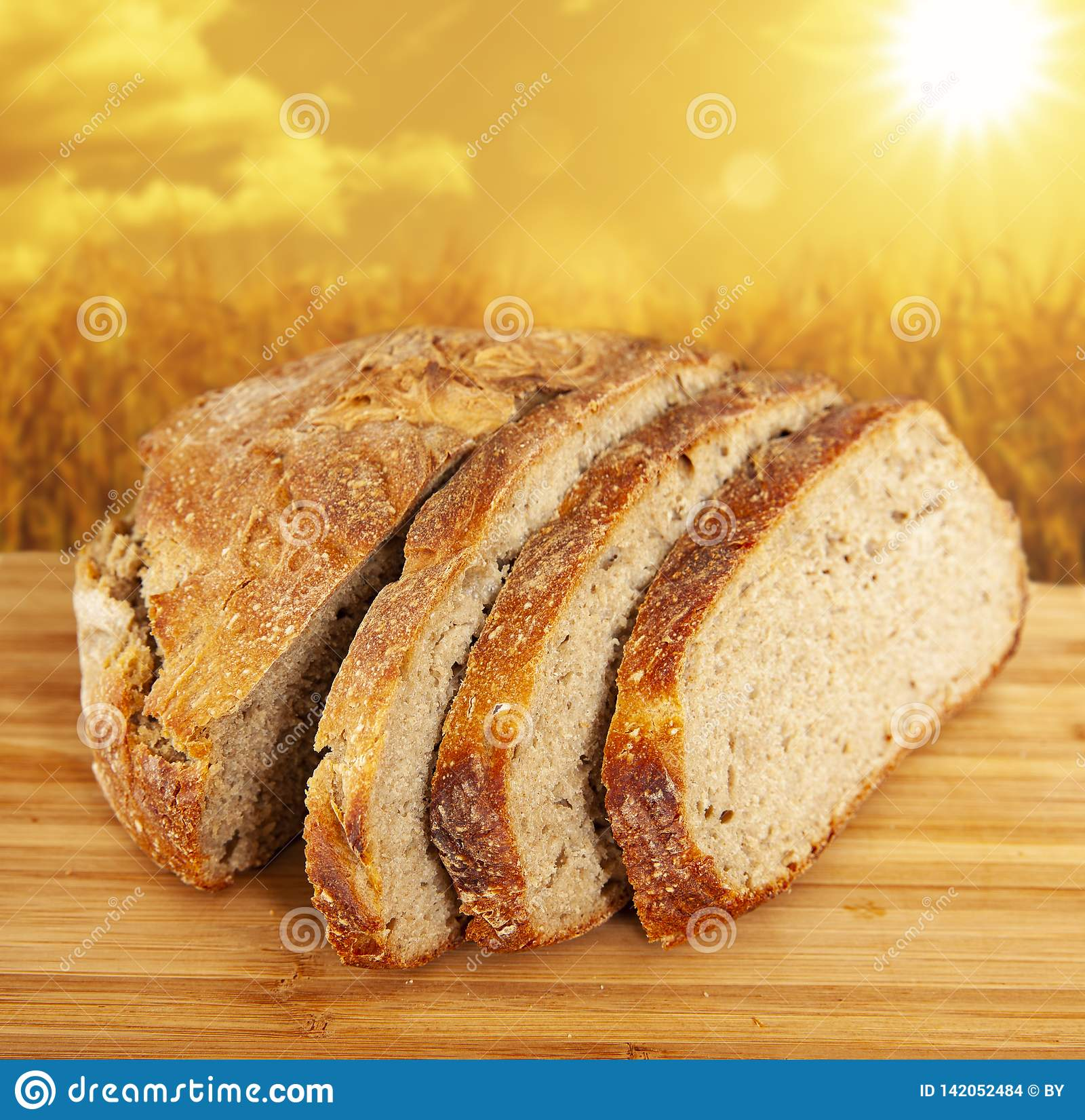 Gehele tarwe bread