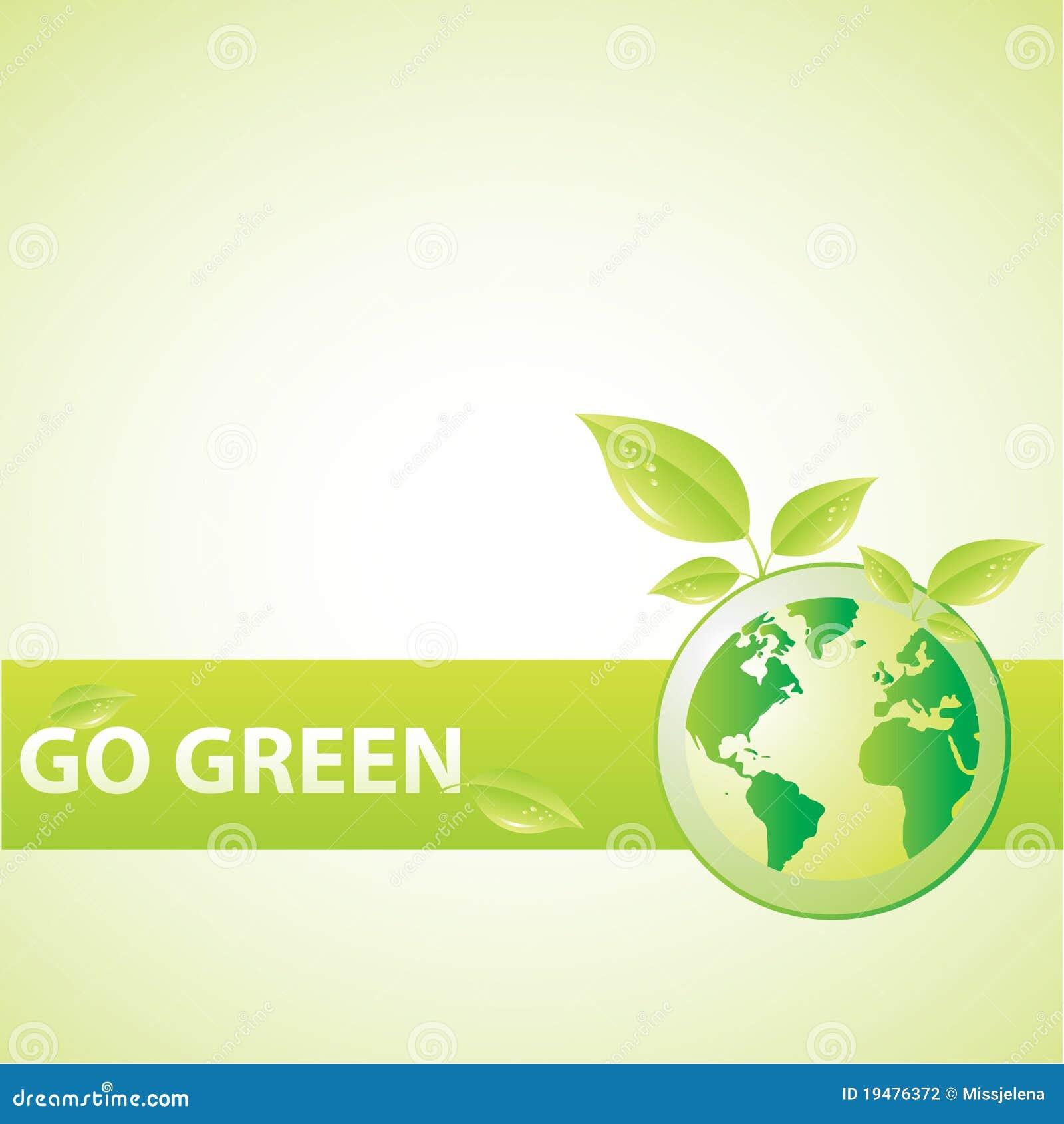 Gehen Grün