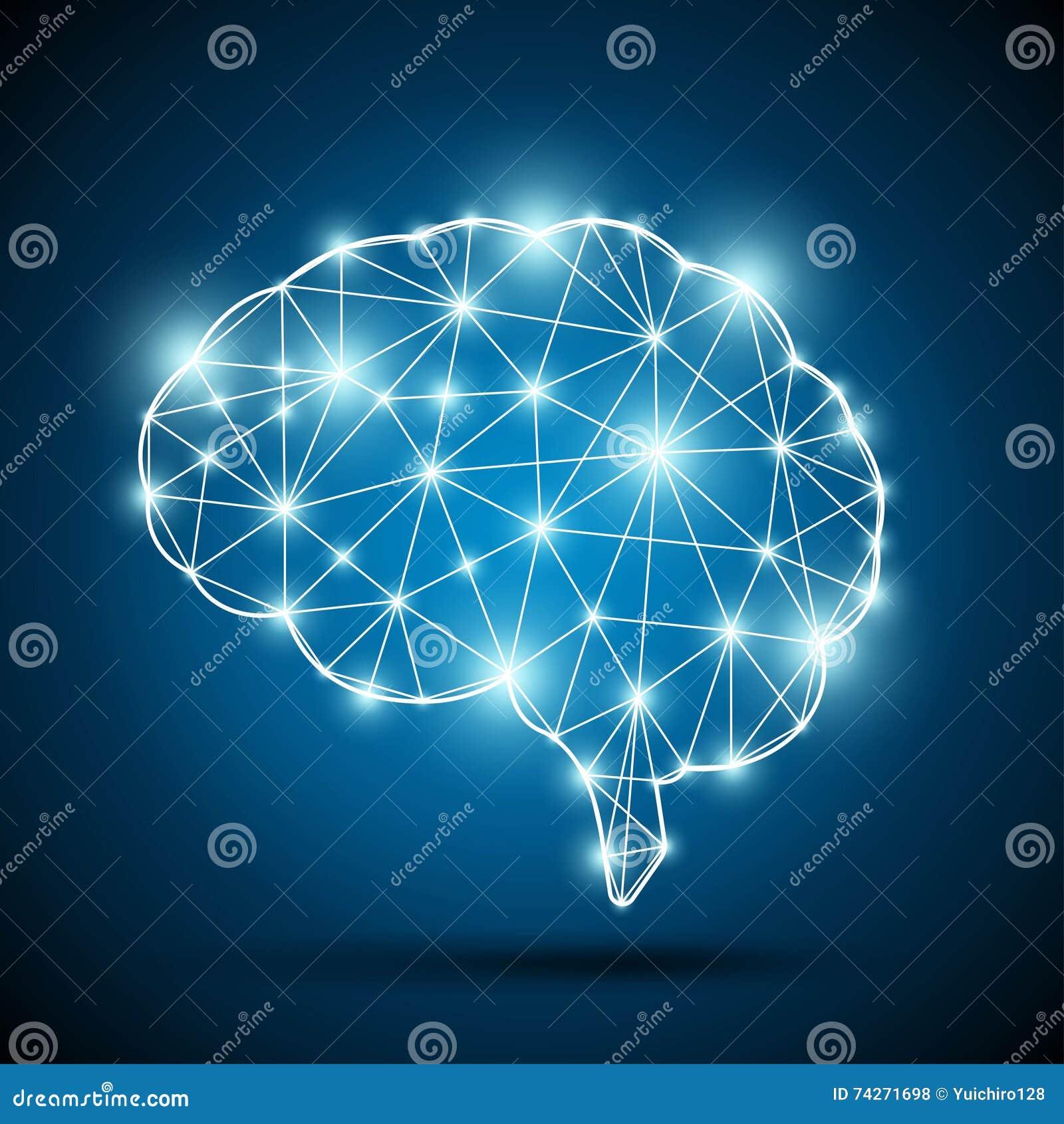 Gehirn einer künstlichen Intelligenz