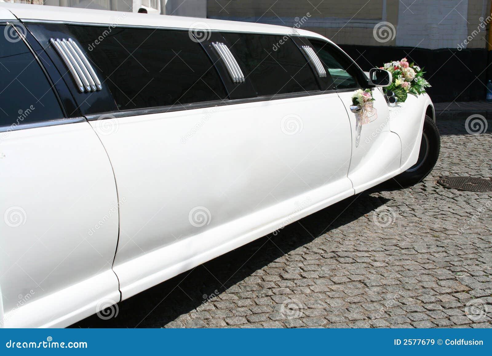 Gehuwde enkel limousine