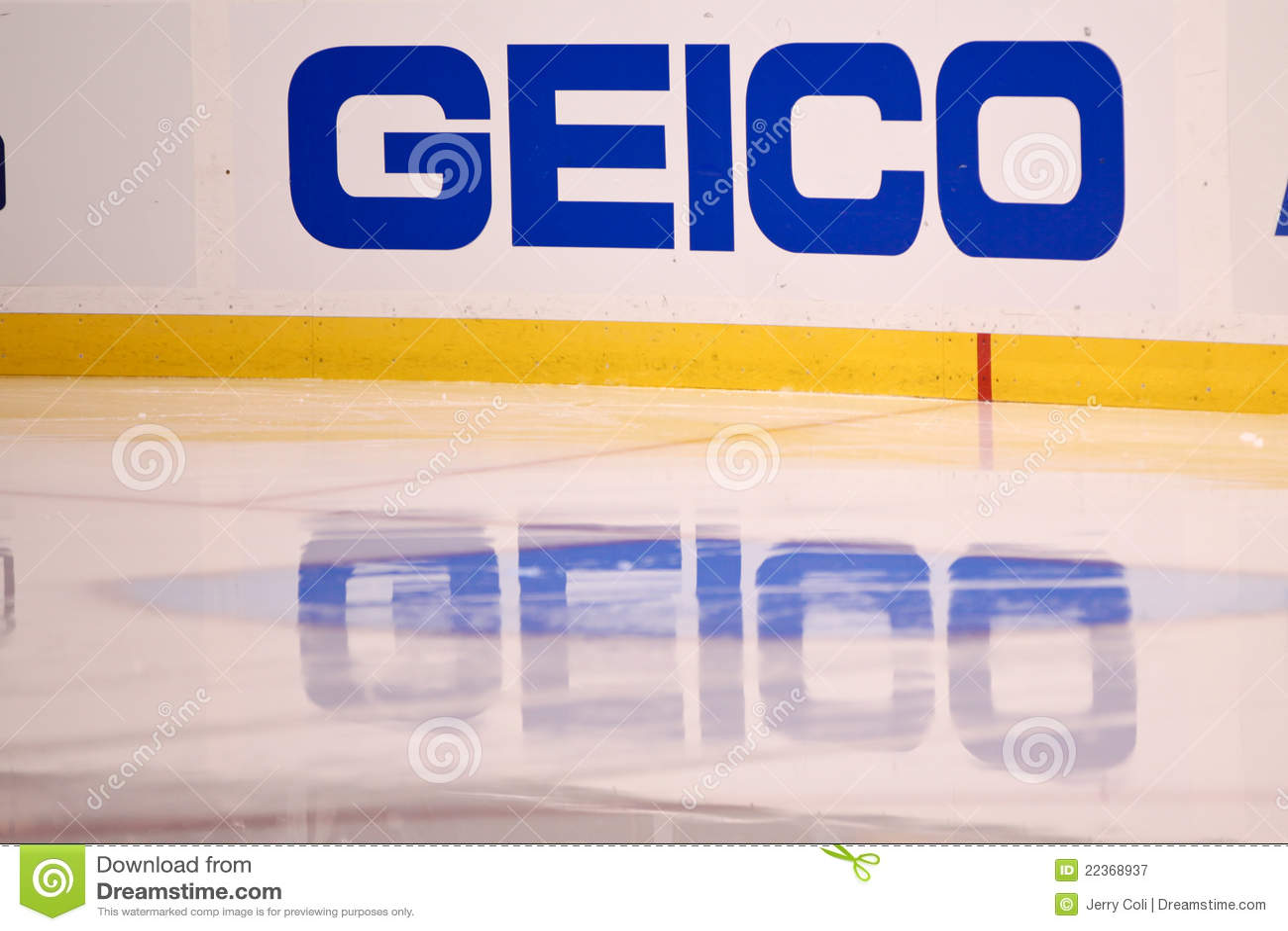 Geico Car Insurance Dasher Editorial Photography Image